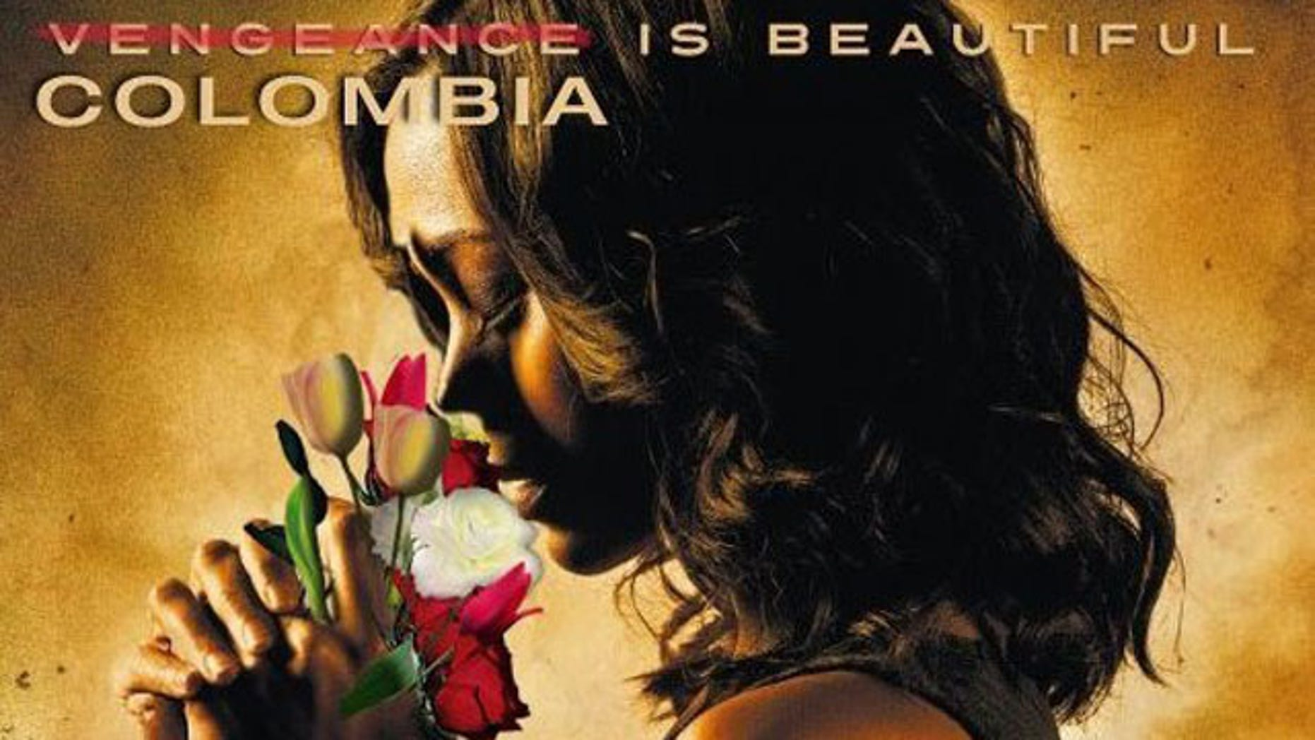 """Reimagined poster for """"Colombiana"""""""