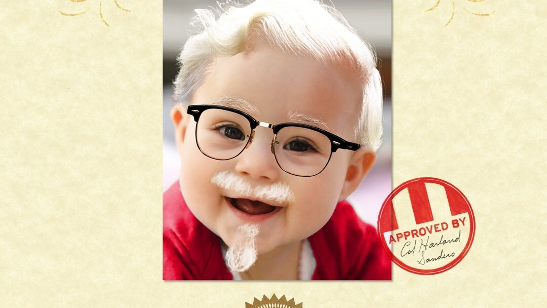 KFC's new 'Name Your Baby Harland' contest tasked parents with doing just that for a chance at $11,000.