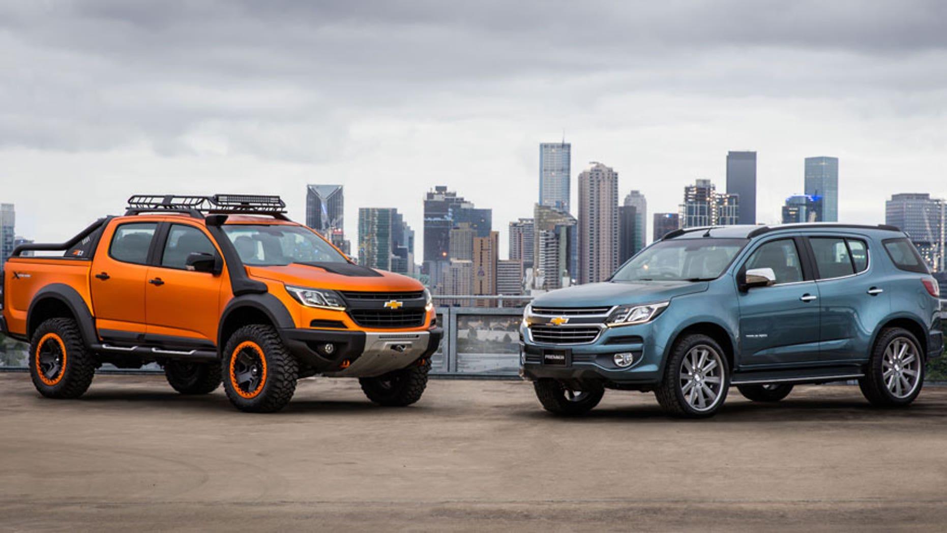 New Chevy Trailblazer Colorado Concepts Revealed Fox News