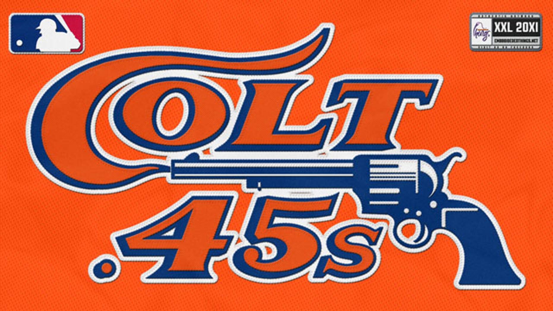 85899dff4 Astros will don retro jerseys after MLB drops gun control bid