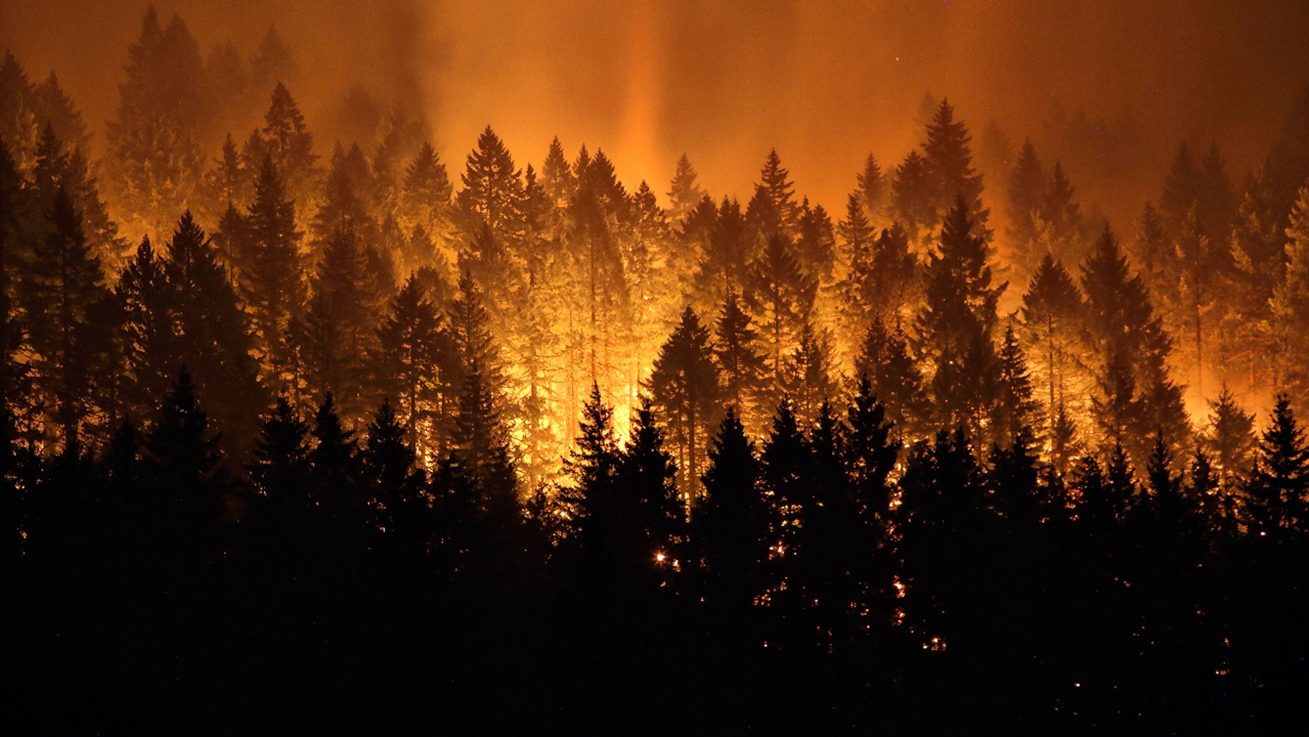 The Eagle Creek wildfire burned 75 square miles in September 2017.