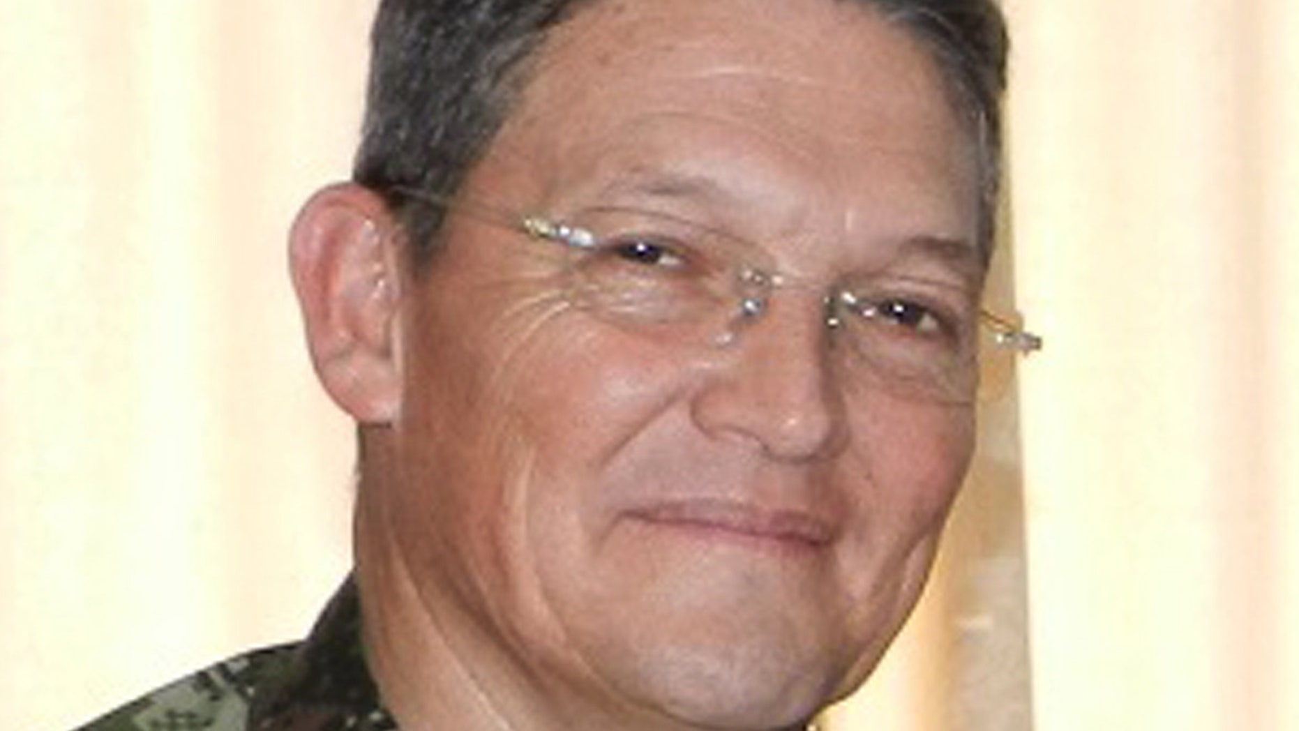 Aug. 15, 2014: Colombian Army Gen. Ruben Dario Alzate in Colombia. Colombian President Juan Manuel Santos suspended peace talks with the South American nation's largest rebel group after Alzate was taken captive