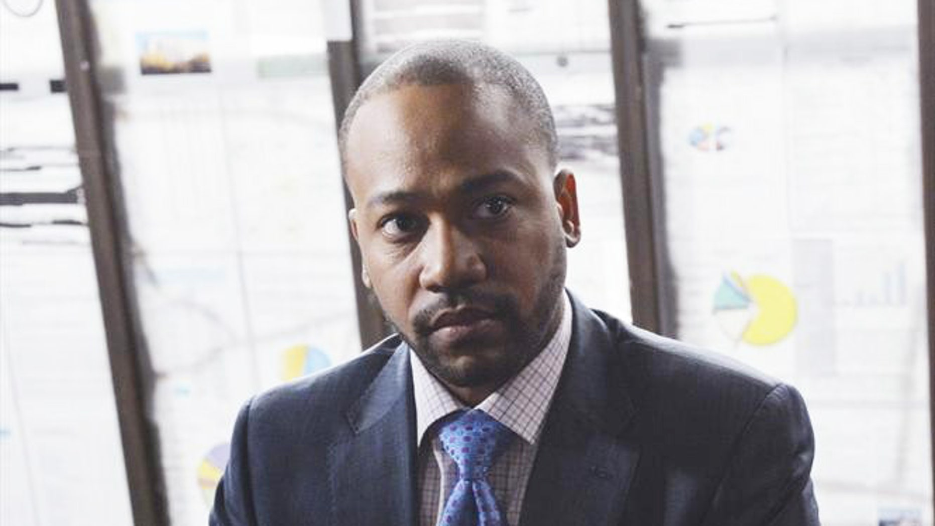 """Columbus Short is seen as Harrison on ABC's hit show """"Scandal."""""""
