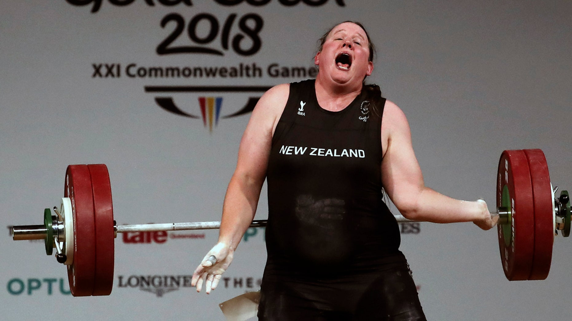 New Zealand weightlifter Laurel Hubbard withdrew from the Commonwealth Games' over-90kg weightlifting competition after suffering this injury.