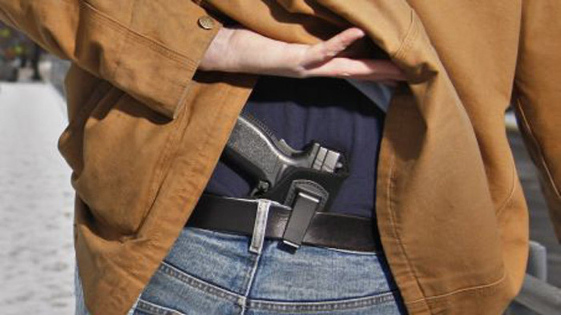 A new study finds that an increase in concealed carry permits has accompanied a decrease in murder. (AP)