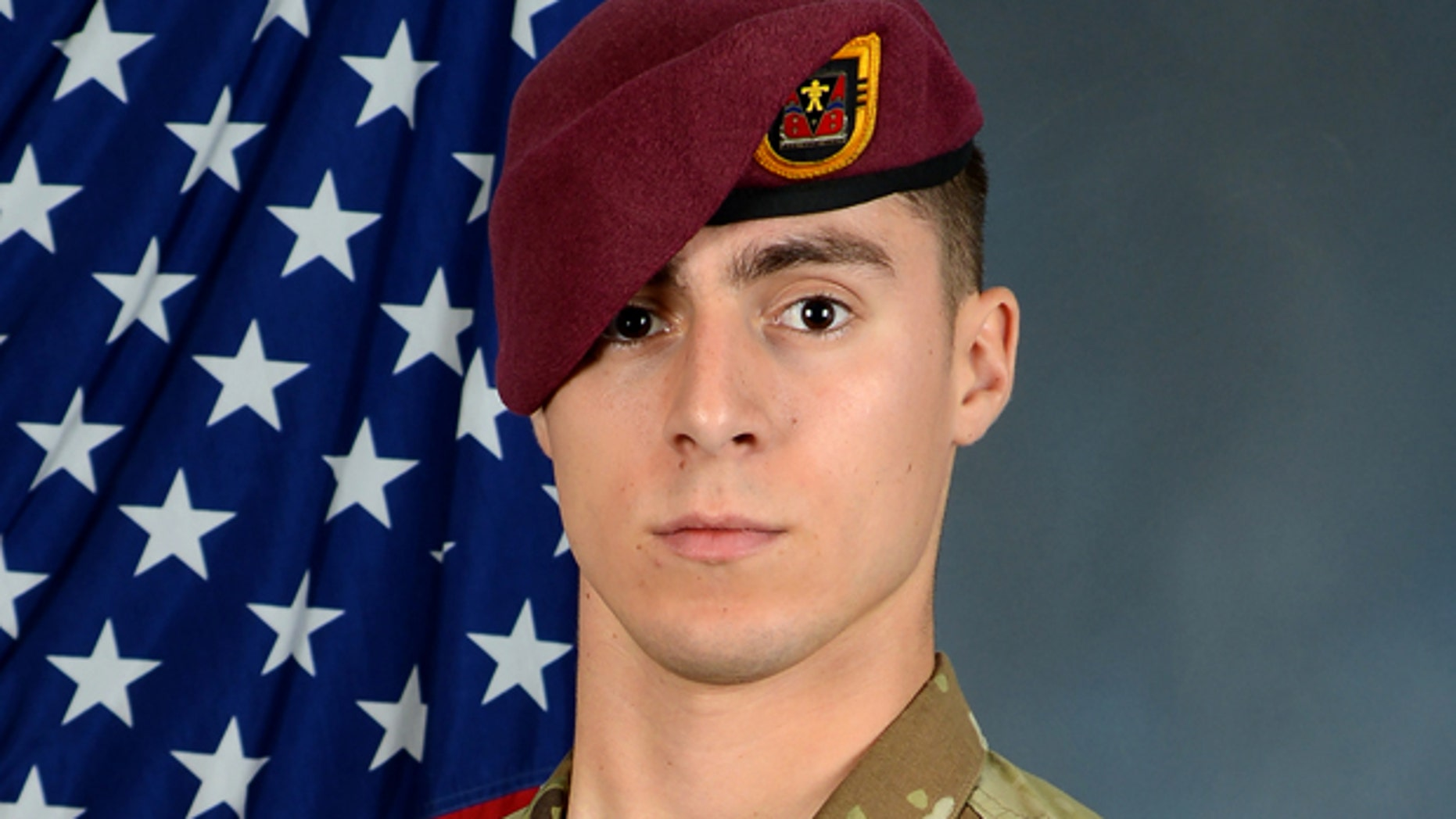 Spc. Gabriel D. Conde, 22, of Loveland, Colorado, was killed while supporting a counter-terrorism operation in Eastern Afghanistan on Monday.