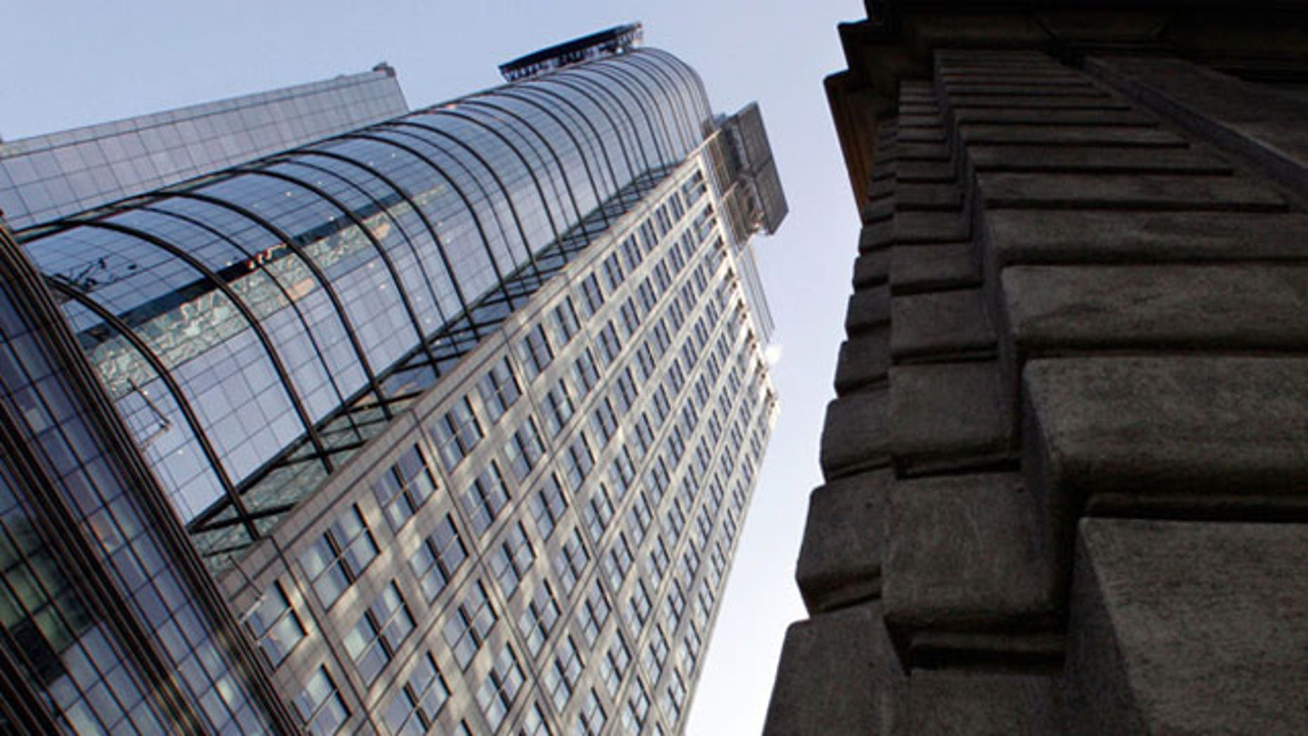 The Conde Nast Building in New York City