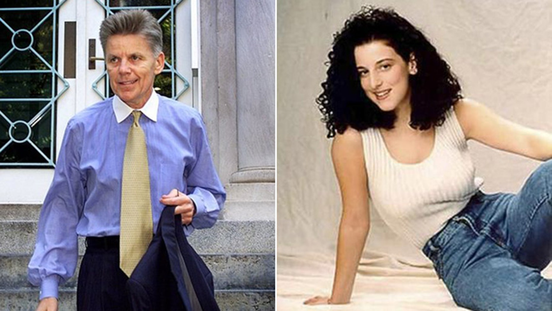 Former Rep. Gary Condit, D-Calif., and Chandra Levy are shown in this AP and Reuters composite.