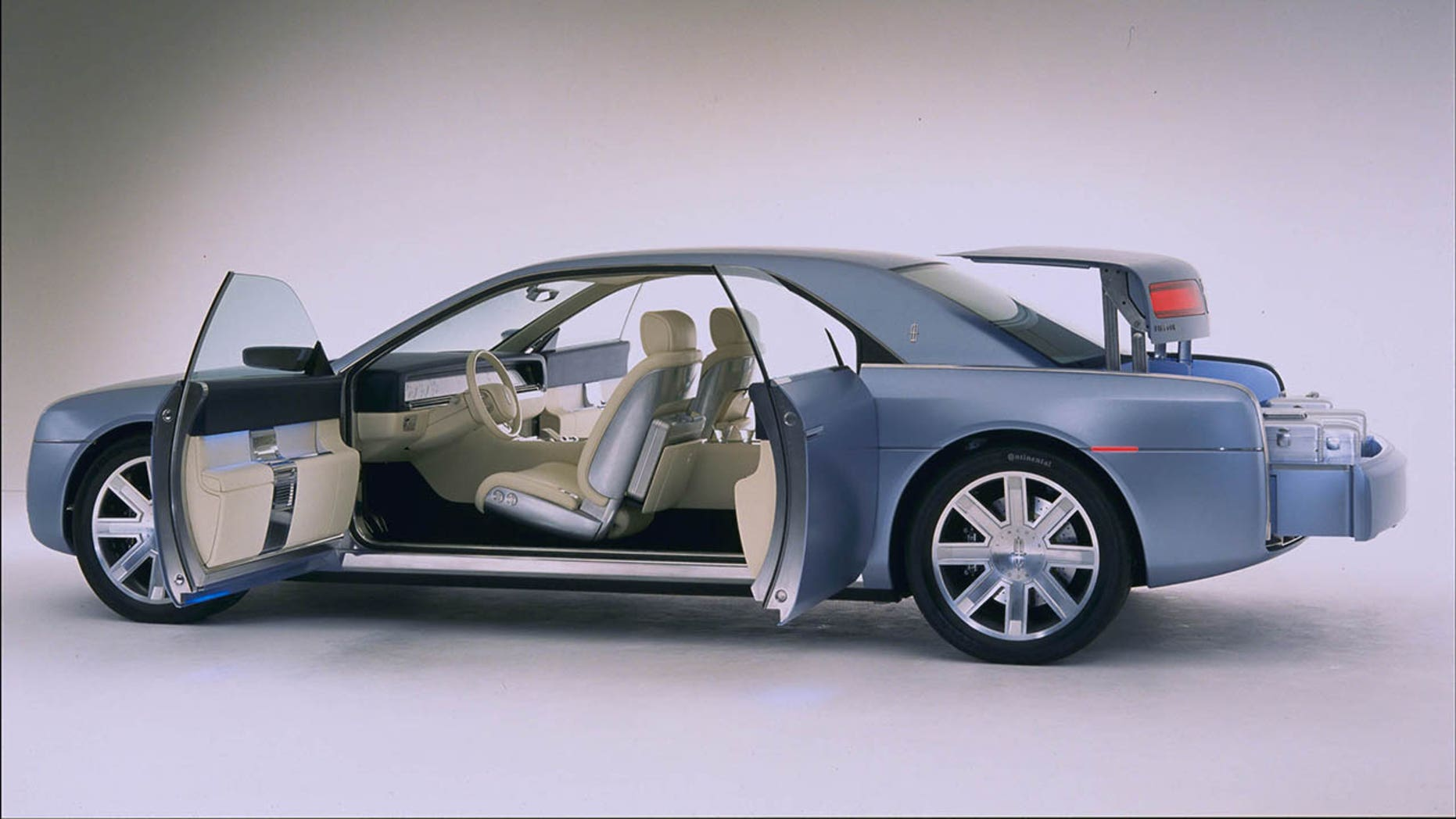 A 2002 Lincoln Continental Concept Car Featured Doors But It Was Never