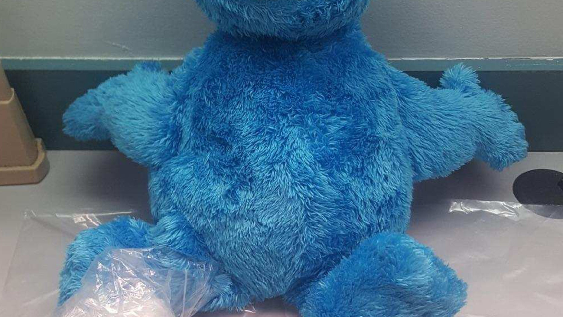 Florida deputies found a stash of cocaine hidden inside a Cookie Monster doll during a traffic stop.