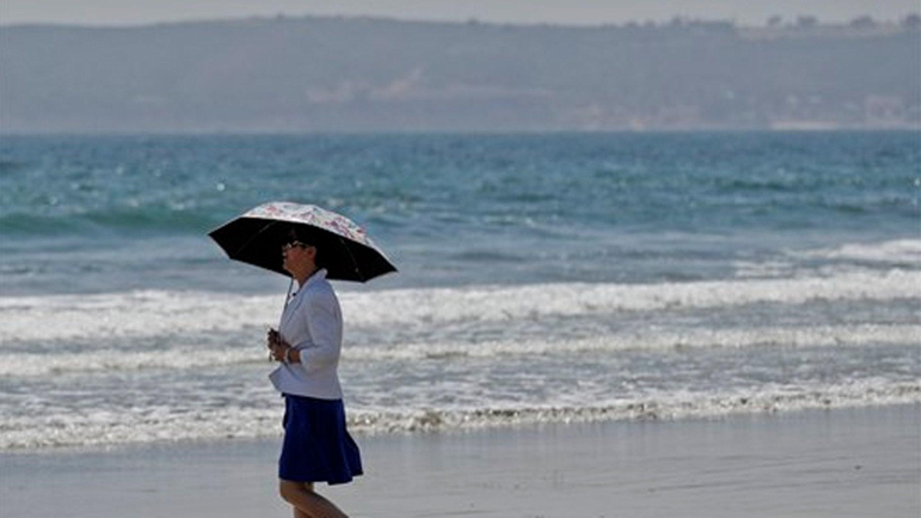 May 22, 2012: The Coronado Beach has been named America's best beach.