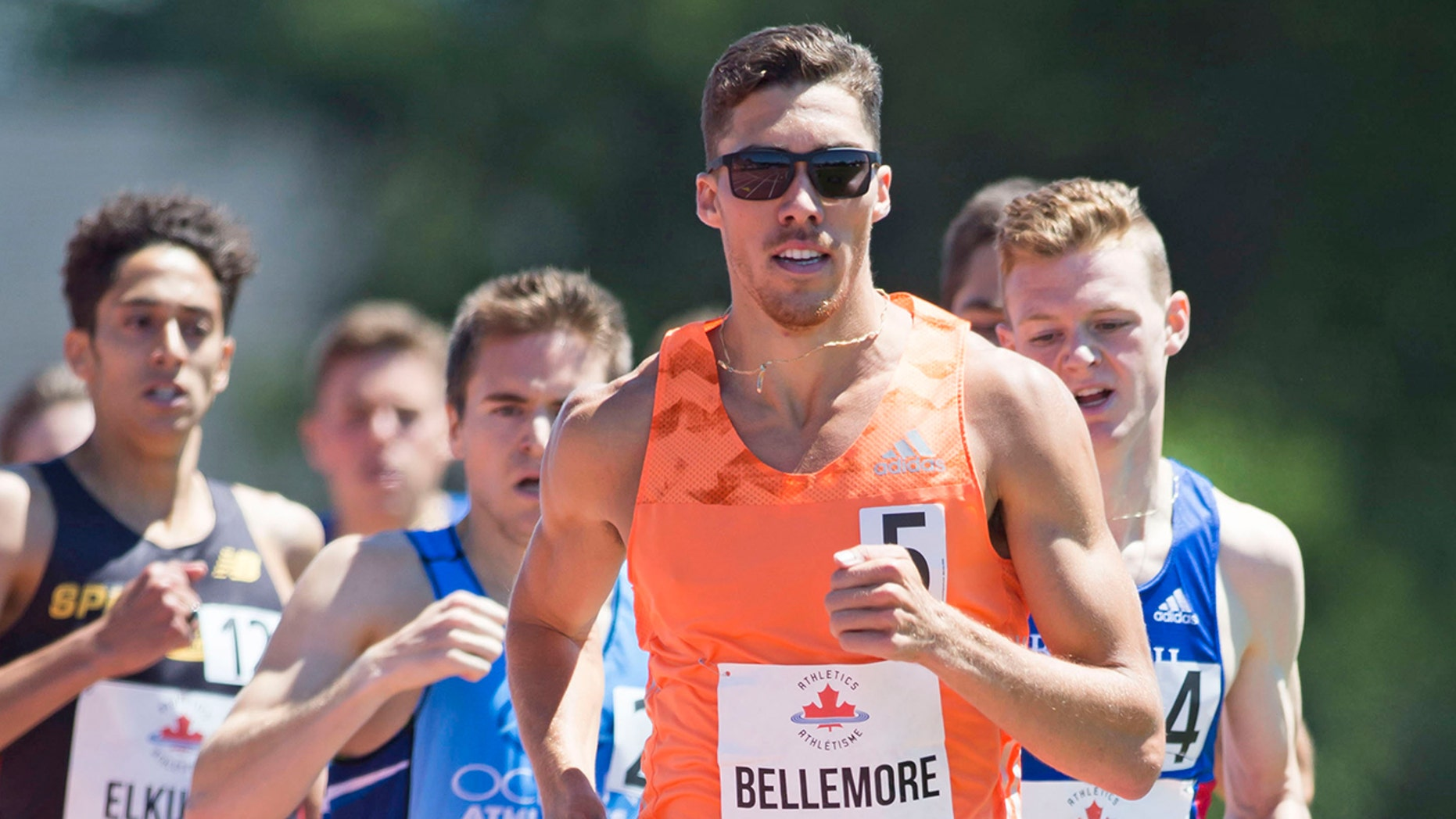 Corey Bellemore, seen here during an earlier race, was disqualified for leaving a half-ounce too much in his bottles.