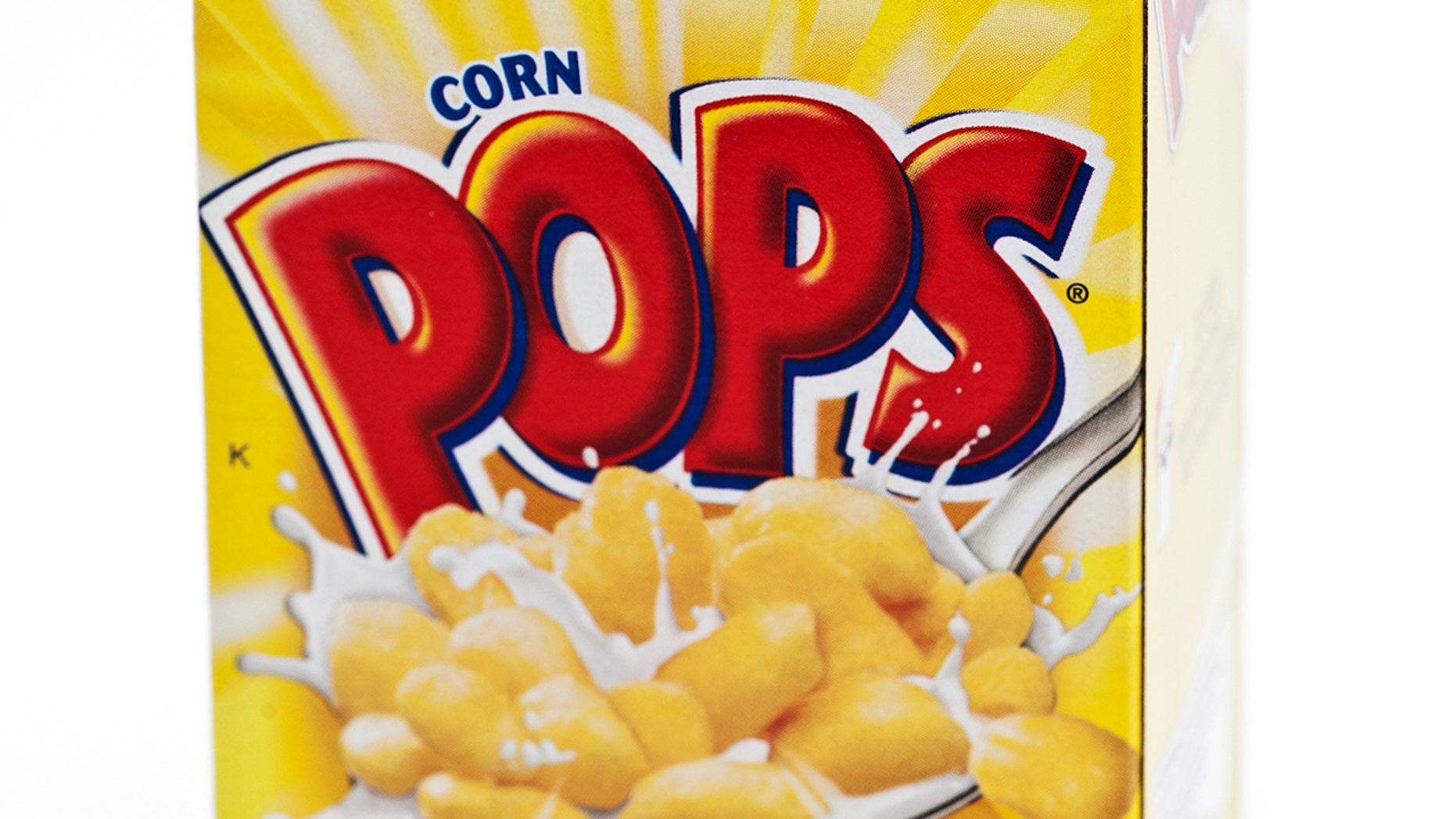 Kellogg's said they'll be replacing the back-of-the-box artwork soon.