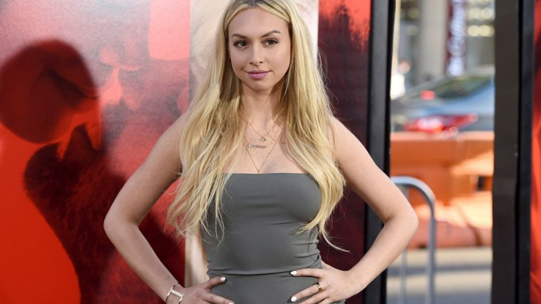 Former 'Bachelor' contestant Corrine Olympios denies plastic surgery rumors.