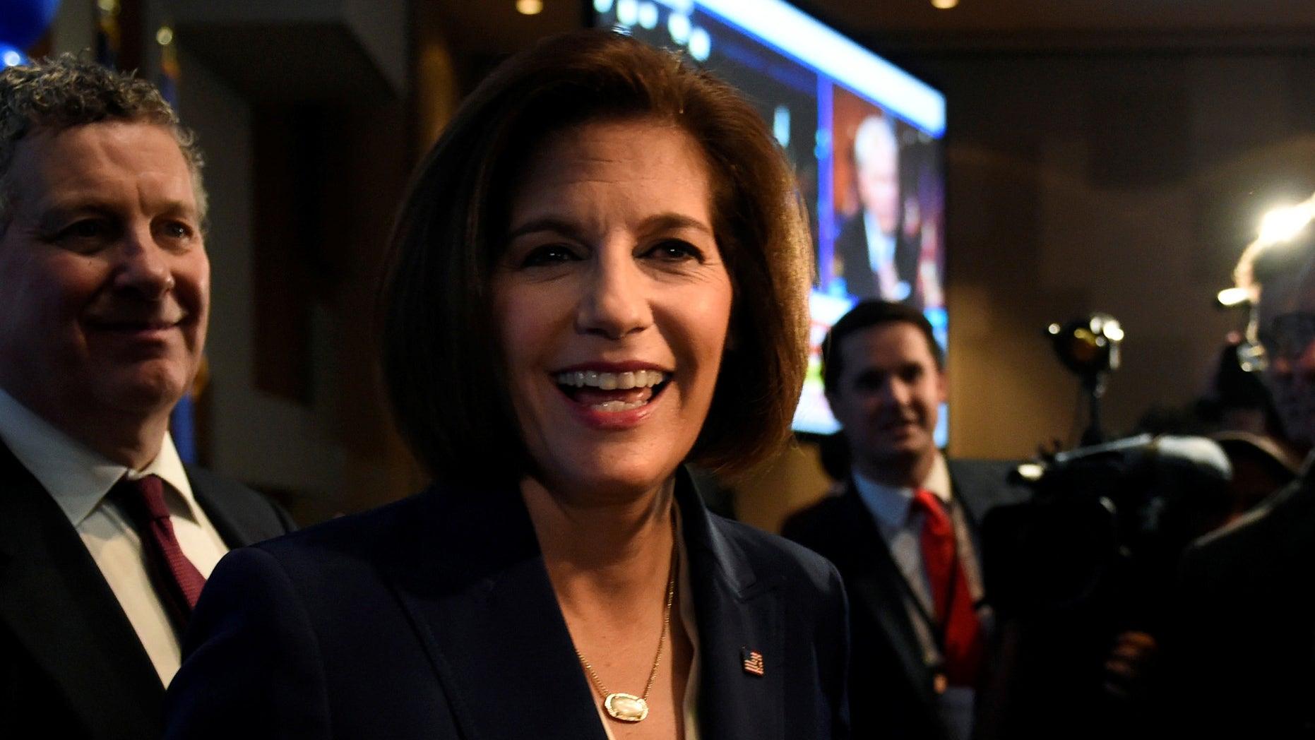 Nevada's freshman Democratic senator, Catherine Cortez Masto, wants to mandate diversity quotas in Congress.