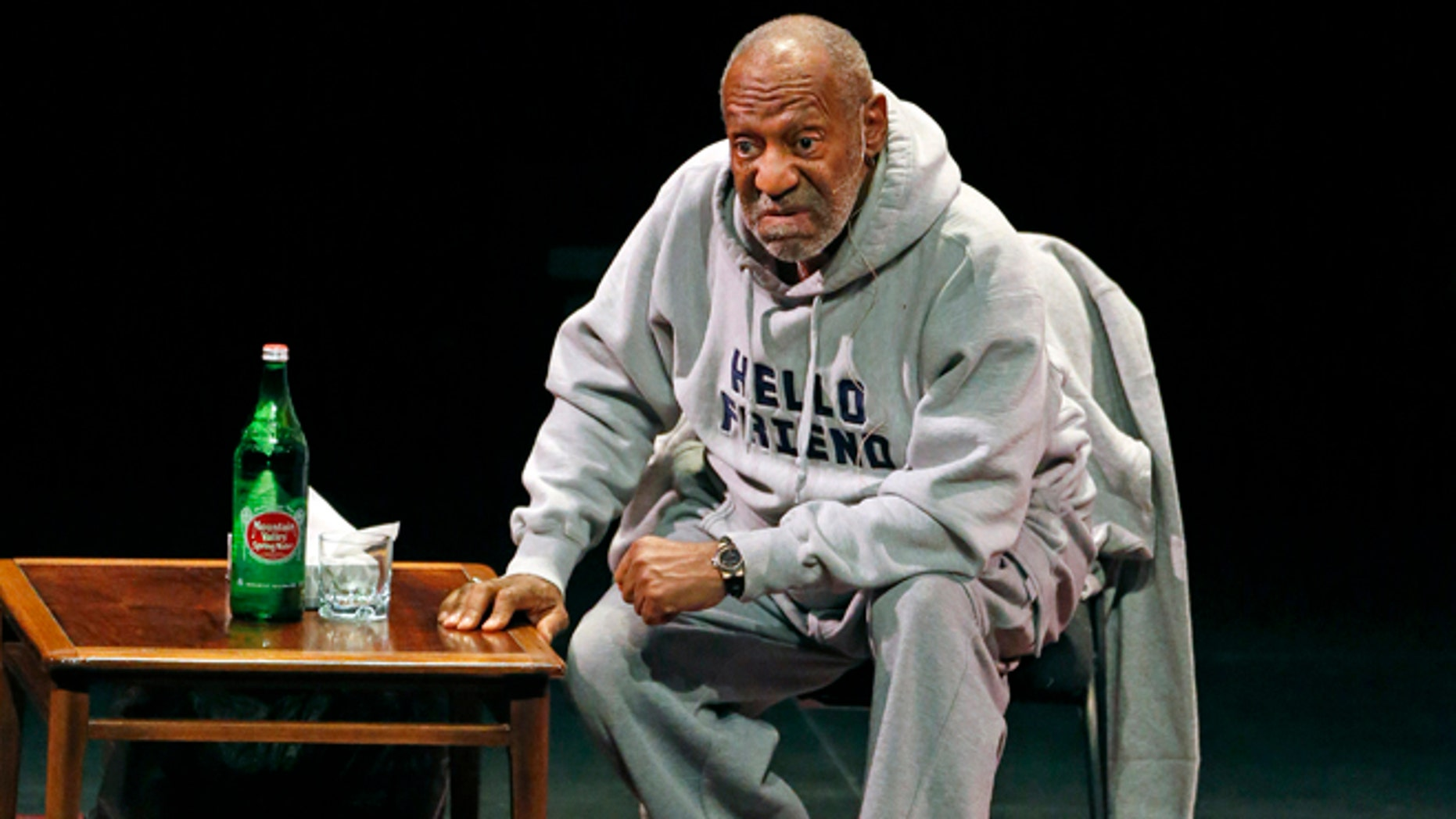 Jan. 17, 2015: file photo, comedian Bill Cosby performs at the Buell Theater in Denver.