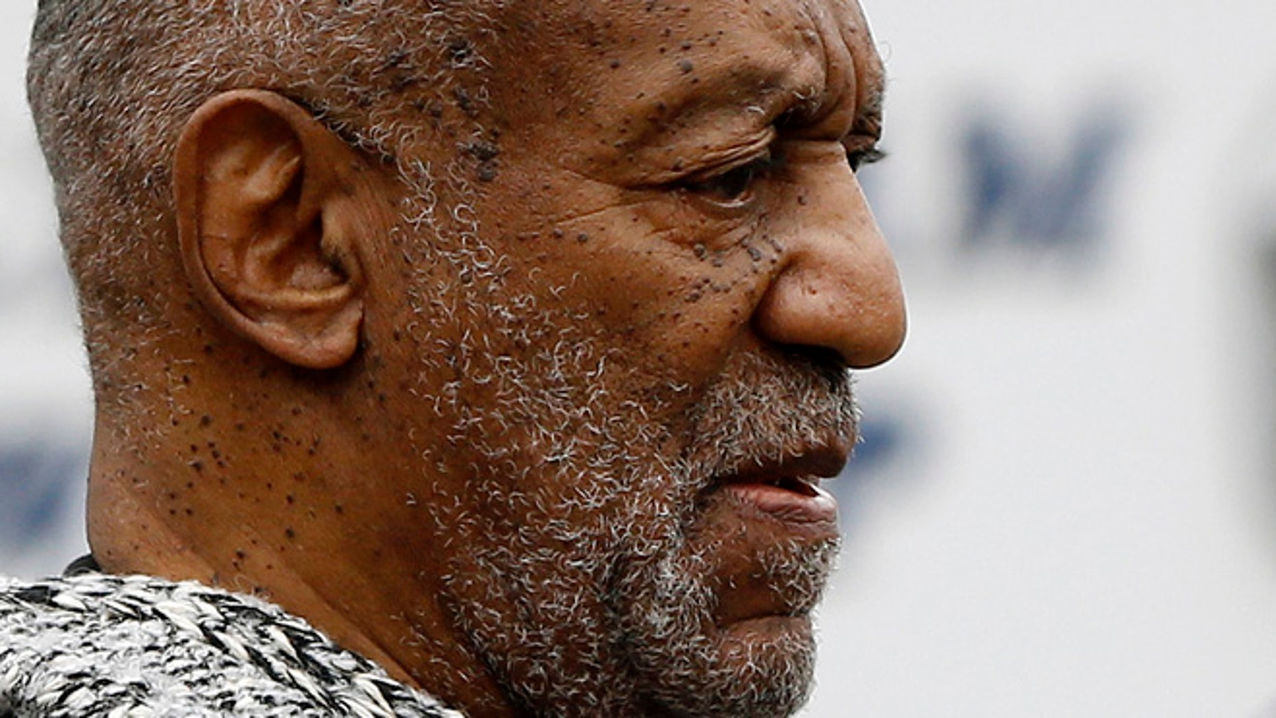 Dec. 30, 2015. Bill Cosby leaves the Cheltenham Township Police Department where he was processed after being arraigned on a felony charge of aggravated indecent assault in Elkins Park, Pa.