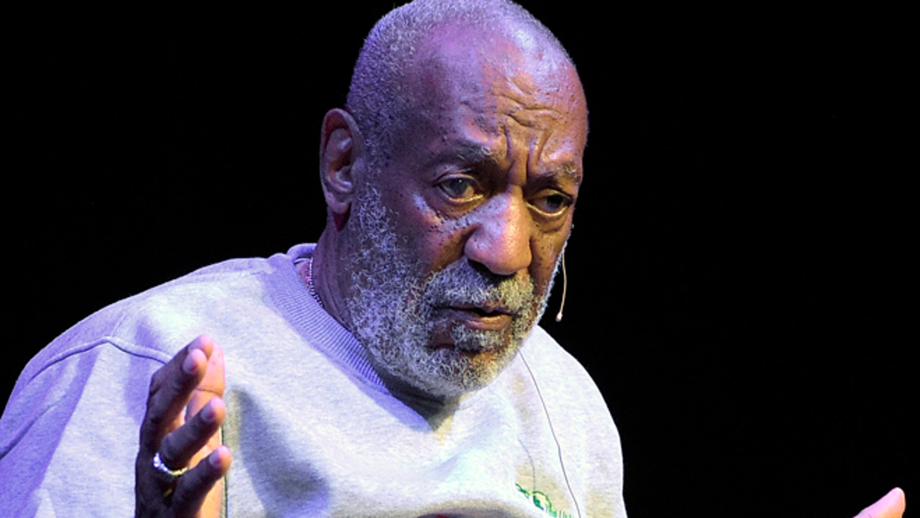 Nov. 21, 2014: Comedian Bill Cosby performs during a show at the Maxwell C. King Center for the Performing Arts in Melbourne, Fla.(AP)