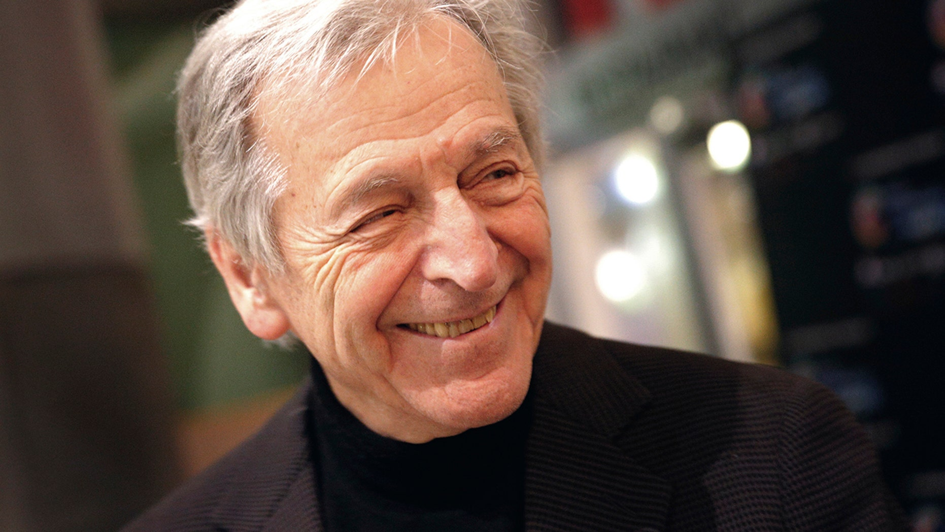The news agency withdrew a report that Oscar-winning director Costa-Gavras, here in a 2016 file photo, had died.