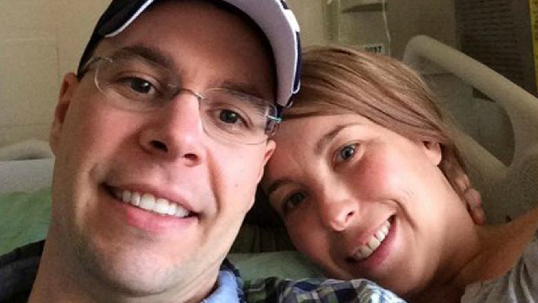 Christian Willenborg donated a kidney to his fiance, Errin Tollefson.