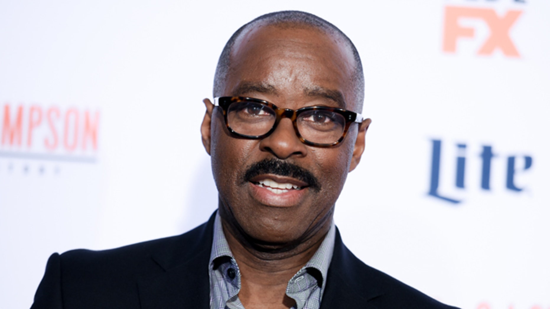 """January 27, 2016. Actor Courtney B. Vance attends the LA premiere of """"American Crime Story: The People v. O.J. Simpson."""""""