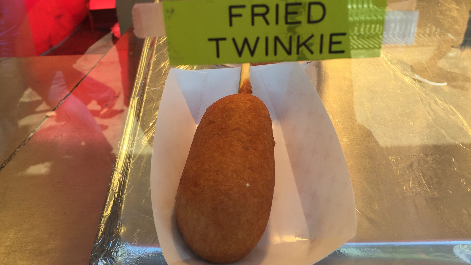 A fried twinkie.