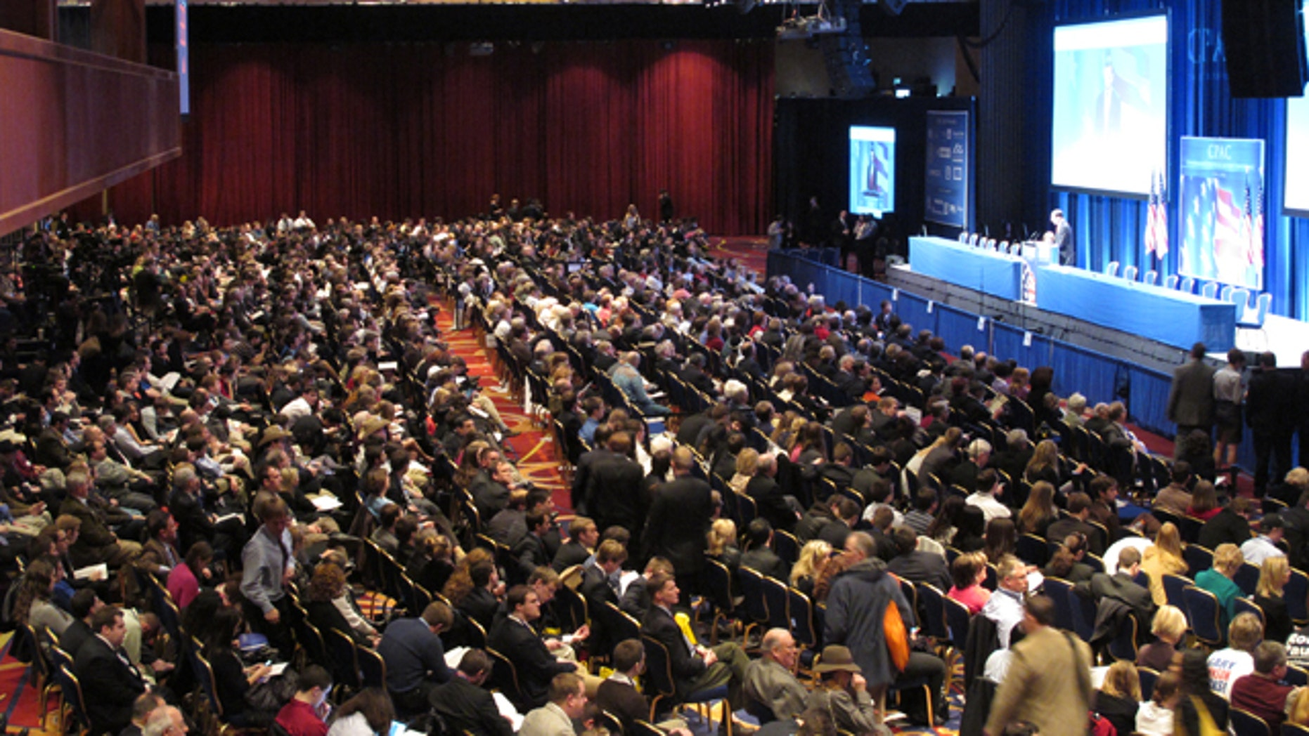 Shown here is the audience at the Conservative Political Action Conference in Washington on Feb. 11.