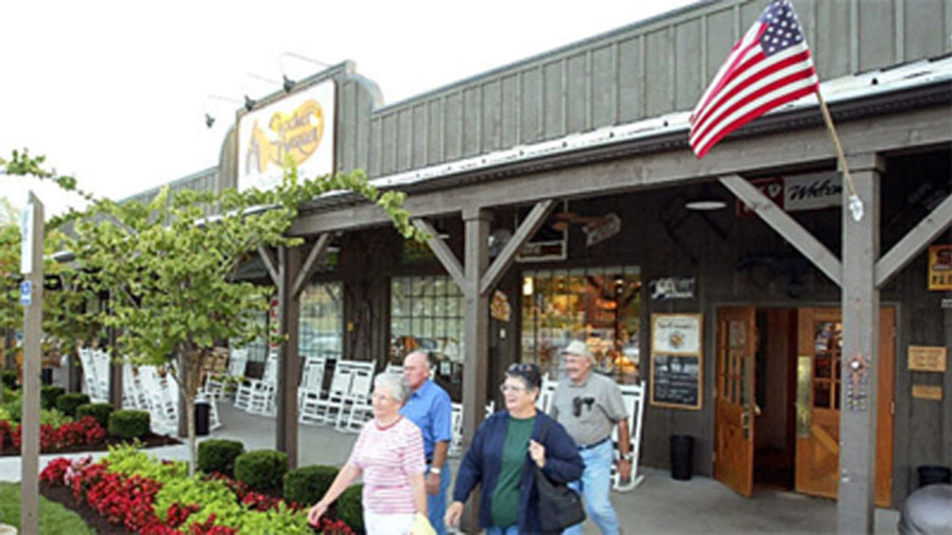 A federal judge in Chicago has temporarily blocked Cracker Barrel Old Country Store from selling branded meats and other food items in grocery stores.
