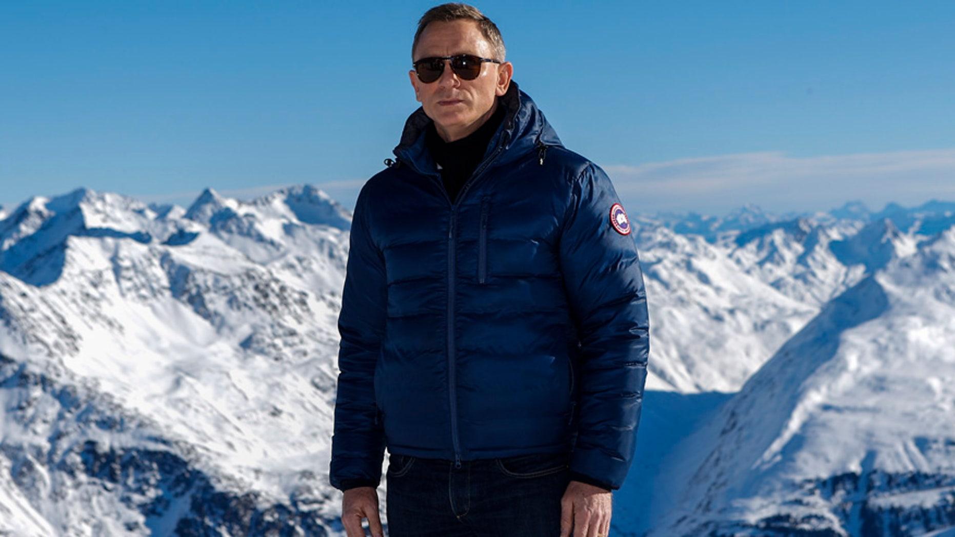 "Jan. 7, 2015: Actor Daniel Craig poses to promote the James Bond film ""Spectre"" at Gaislachkogel mountain in the Austrian ski resort of Soelden."