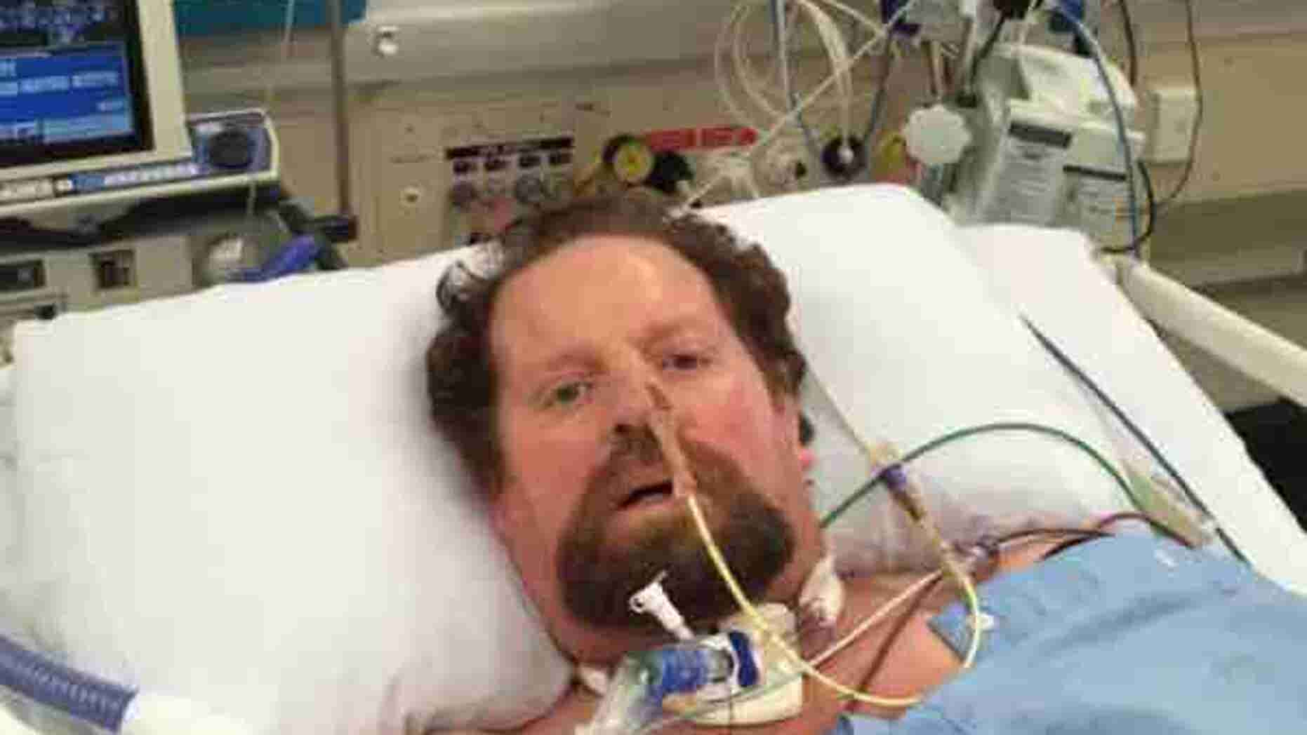 Craig Hardy, 52, first thought his symptoms were a stomach bug he picked up during a trip to Bali.