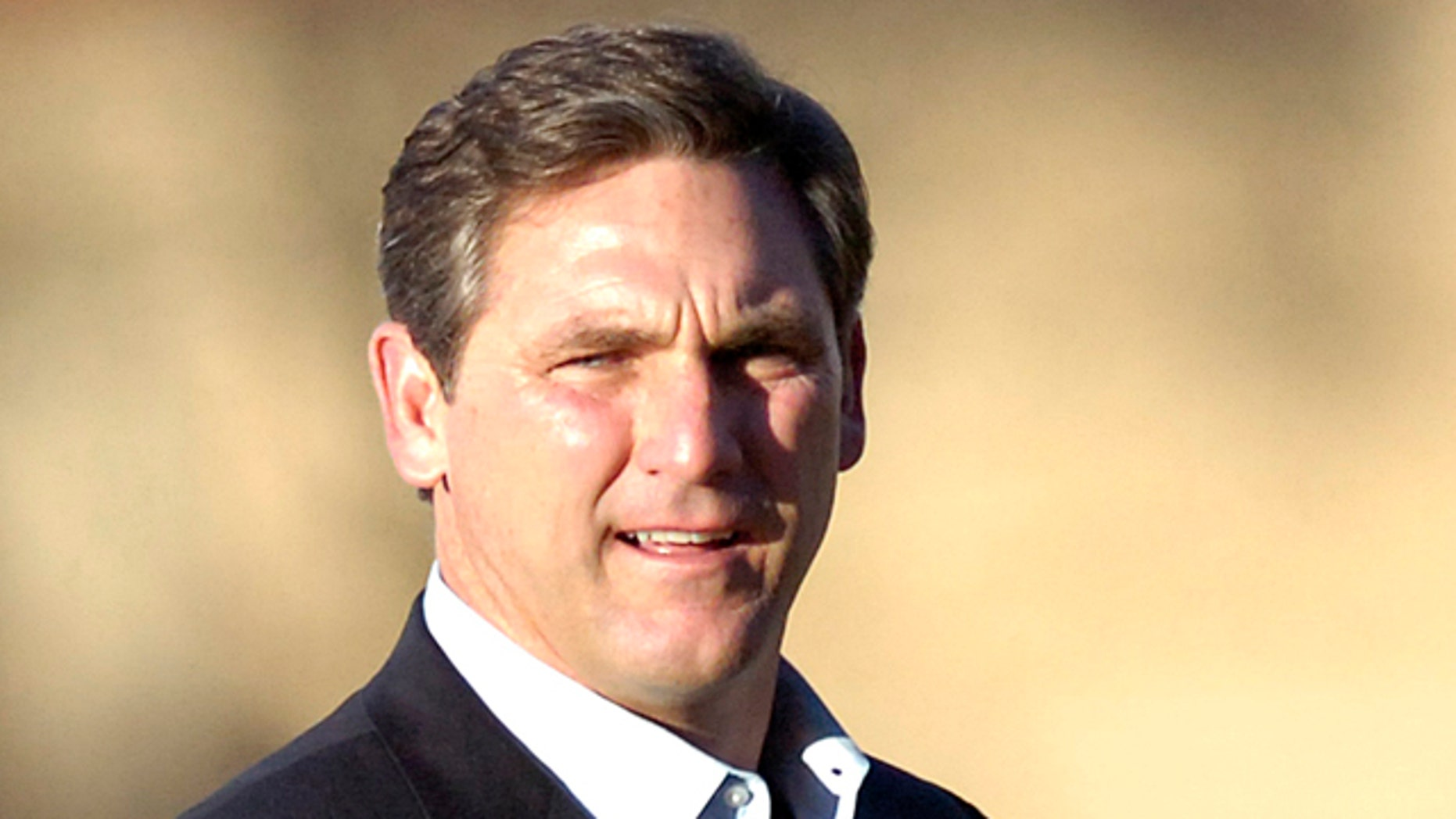 March 13, 2011: FILE - In this file photo, college football analyst Craig James is seen in Lubbock, Texas.
