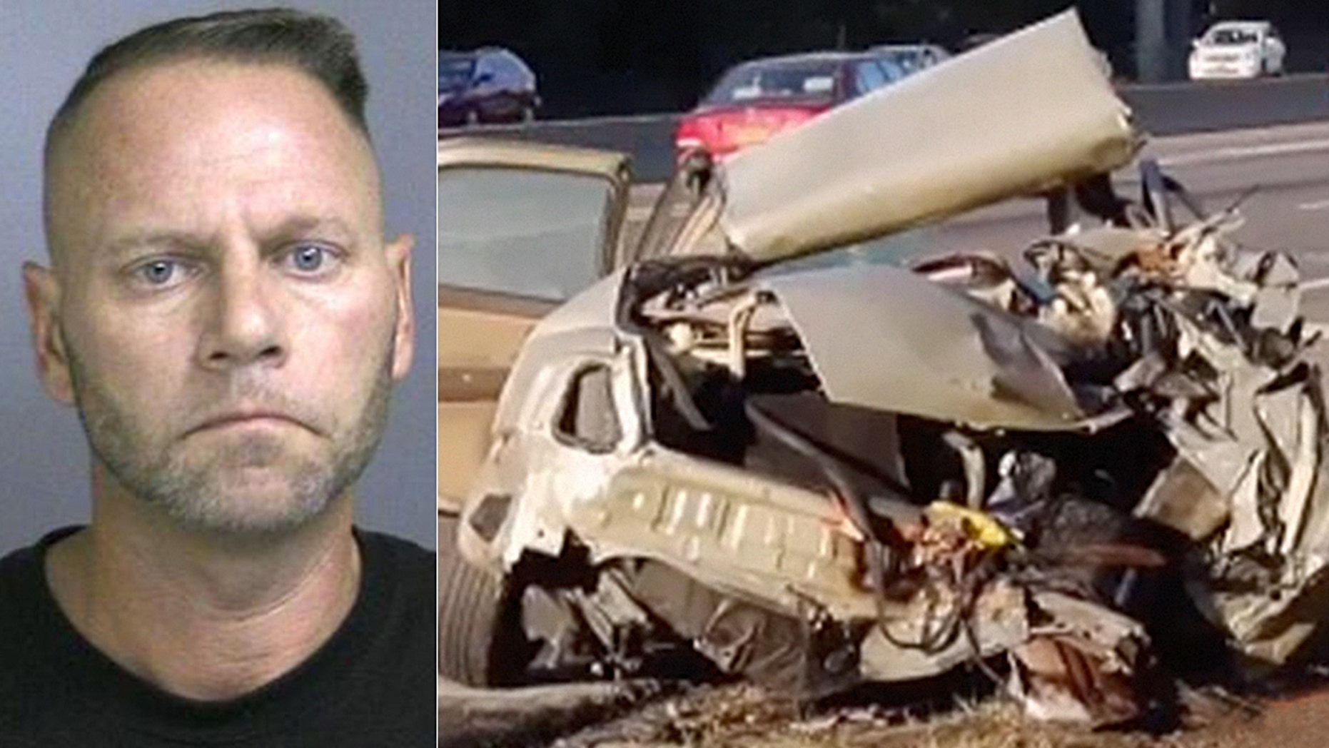 Brian Sinclair was driving a crane involved in a multiple vehicle accident on the Long Island Expressway on Tuesday.