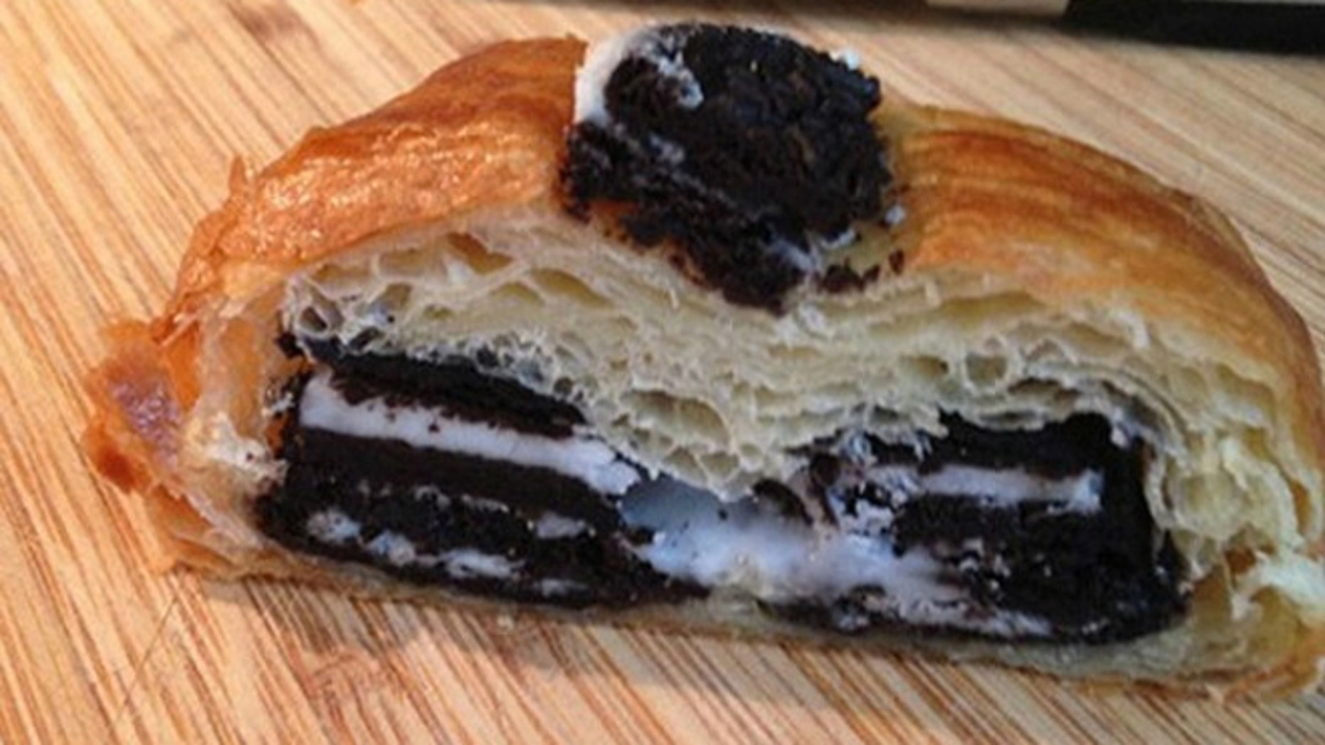 Crookies are the brainchild of Toronto pastry chef Olivier Jansen-Reynaud, owner of Clafouti Patisserie & Cafe,
