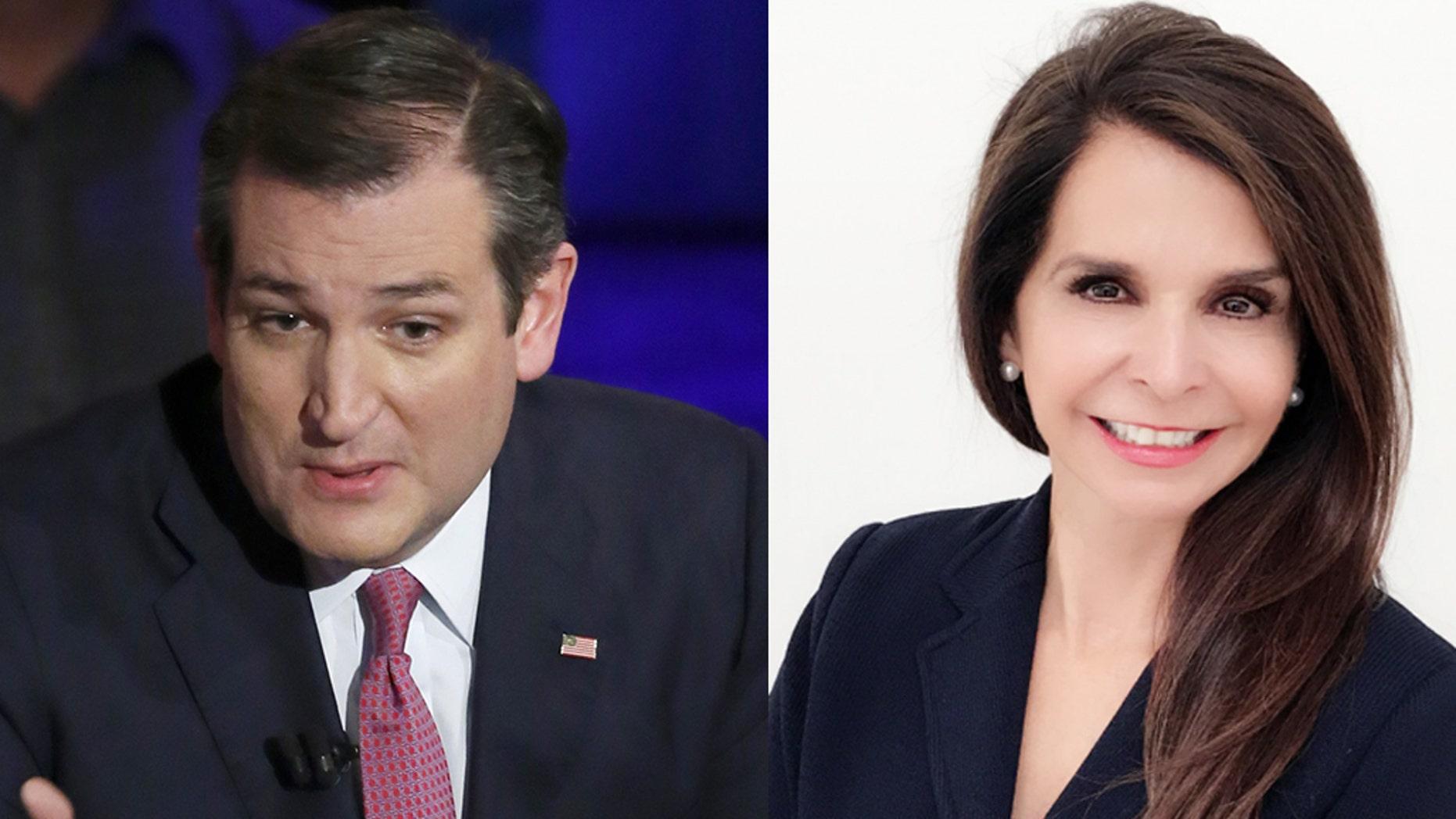 Sen. Ted Cruz (left) and Margarita Palau Hernandez. (Photos: Cruz, Getty Images; Hernandez, courtesy Margarita Palau Hernandez)