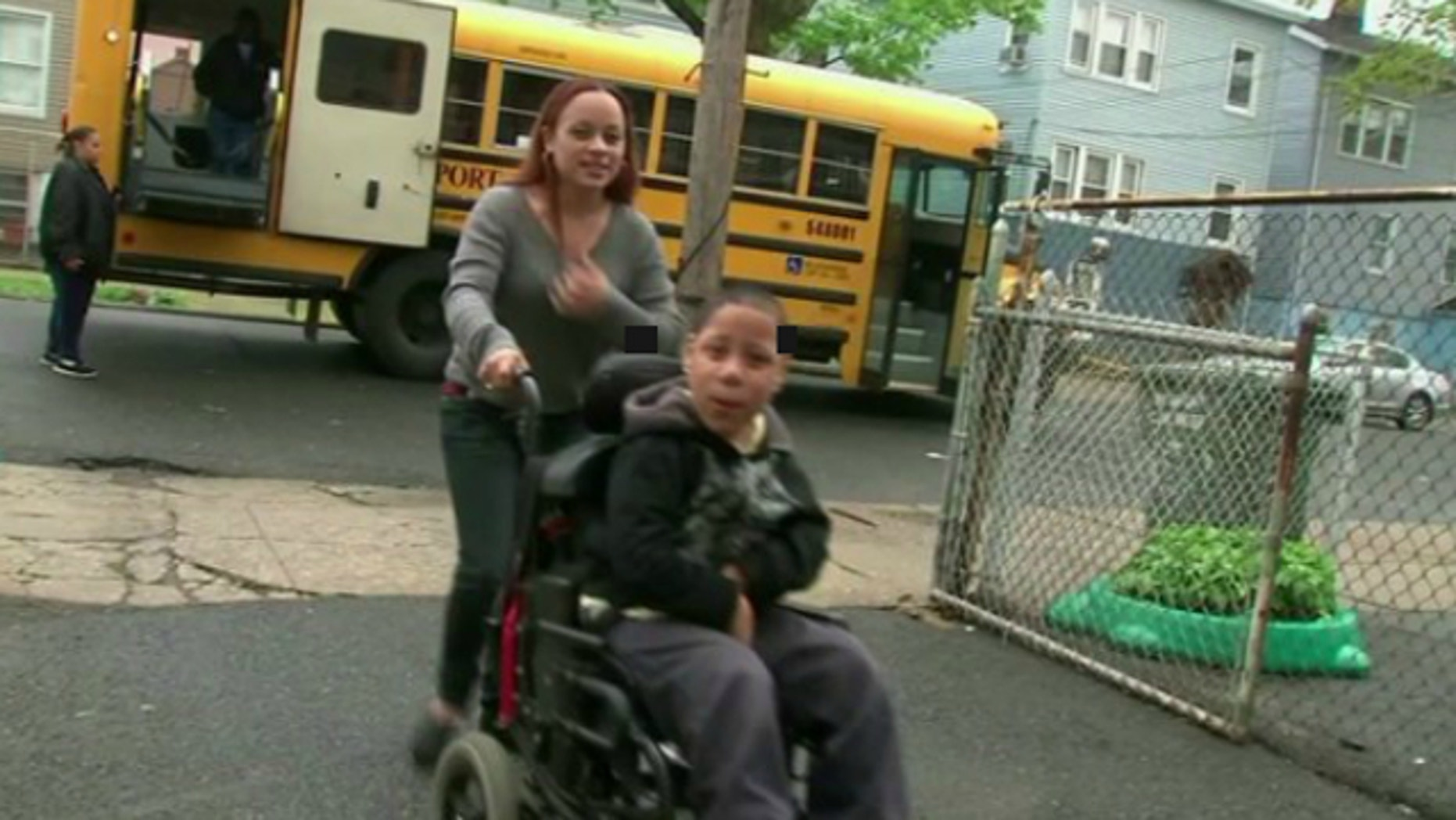 UNDATED: Isaiah McLaughlin, 10, was confined to his Bridgeport, Conn., home after a wheelchair ramp was stolen from the property.