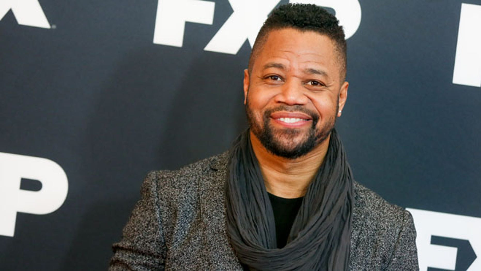 Jan 16, 2016. Cuba Gooding, Jr. arrives at the 2016 FX Winter TCA in Pasadena.