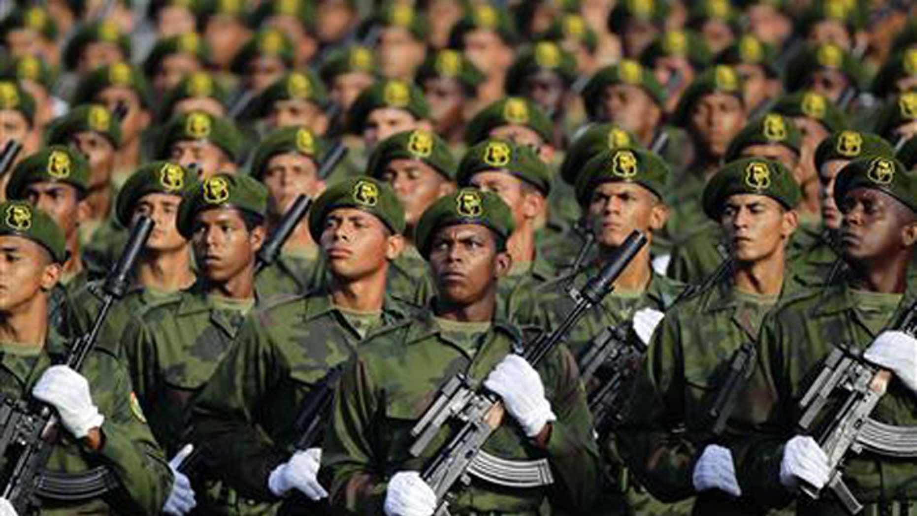Cuba's army is small, but highly trained, according to military experts. (Reuters)