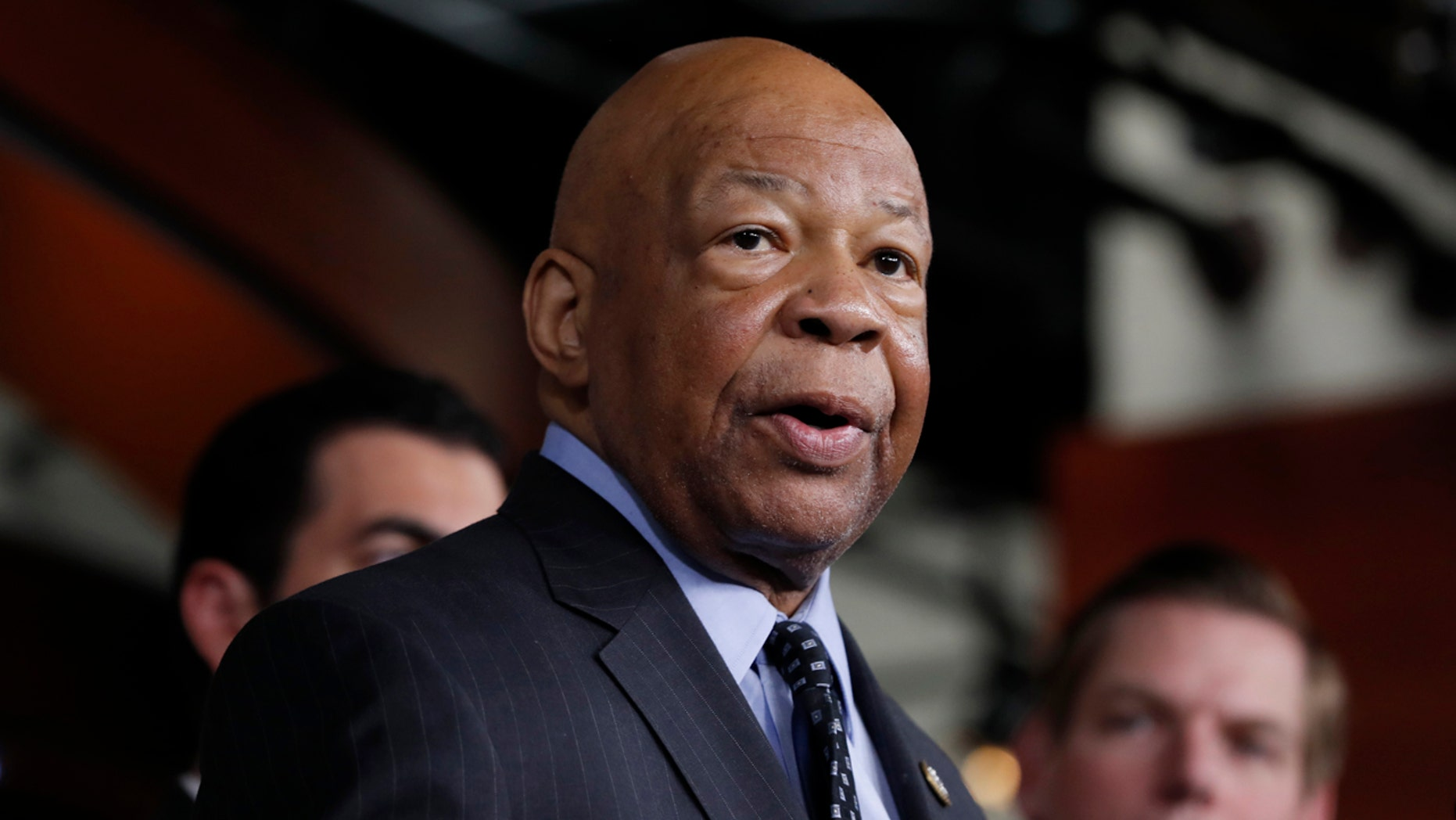 Rep. Elijah Cummings, D-Ga., sent a letter to Attorney General Jeff Sessions in April accusing the Justice Department of using political bias when hiring immigration judges.
