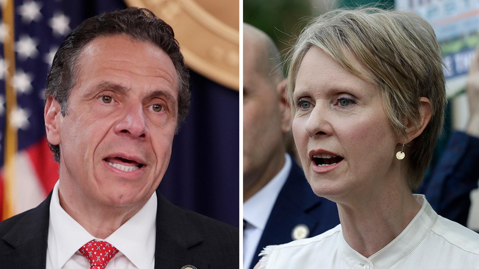New York Gov. Andrew Cuomo is scheduled to debate gubernatorial candidate Cynthia Nixon in Long Island on Wednesday night.