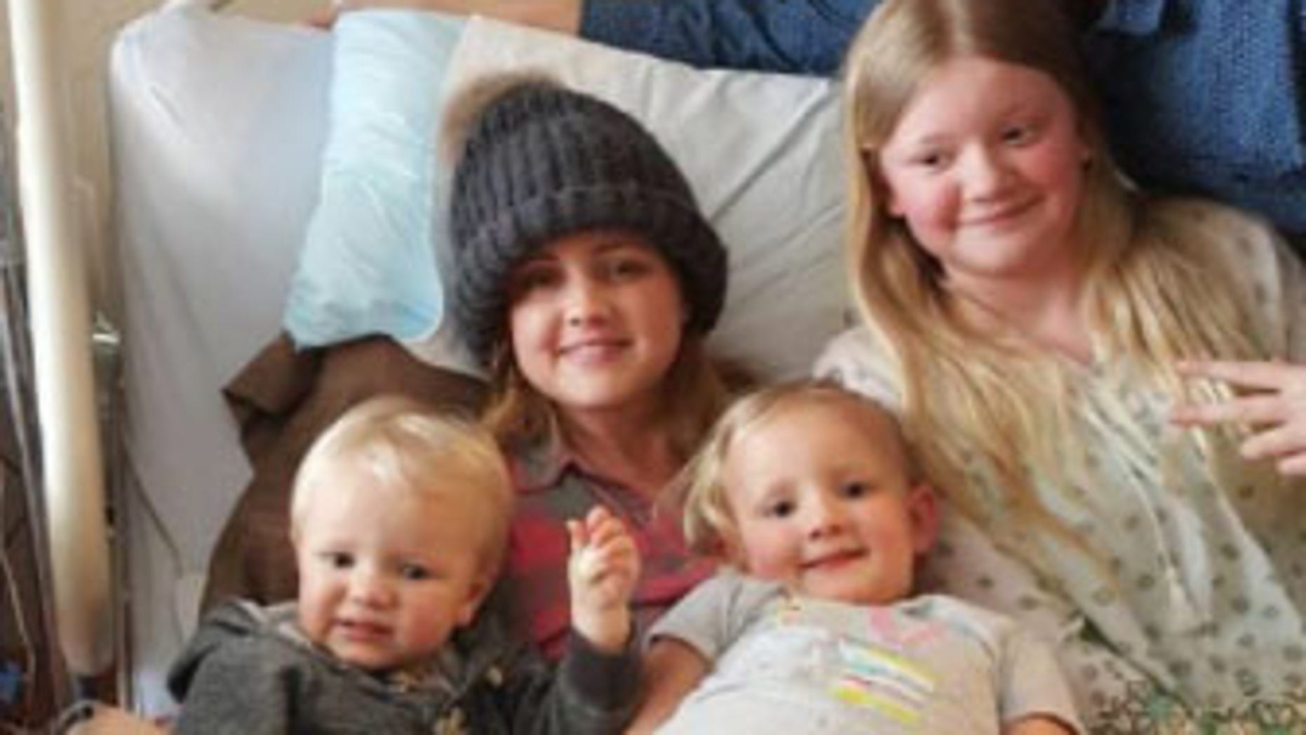 Carrie Deklyn found out she was pregnant with her sixth child just two weeks after being diagnosed with glioblastoma.