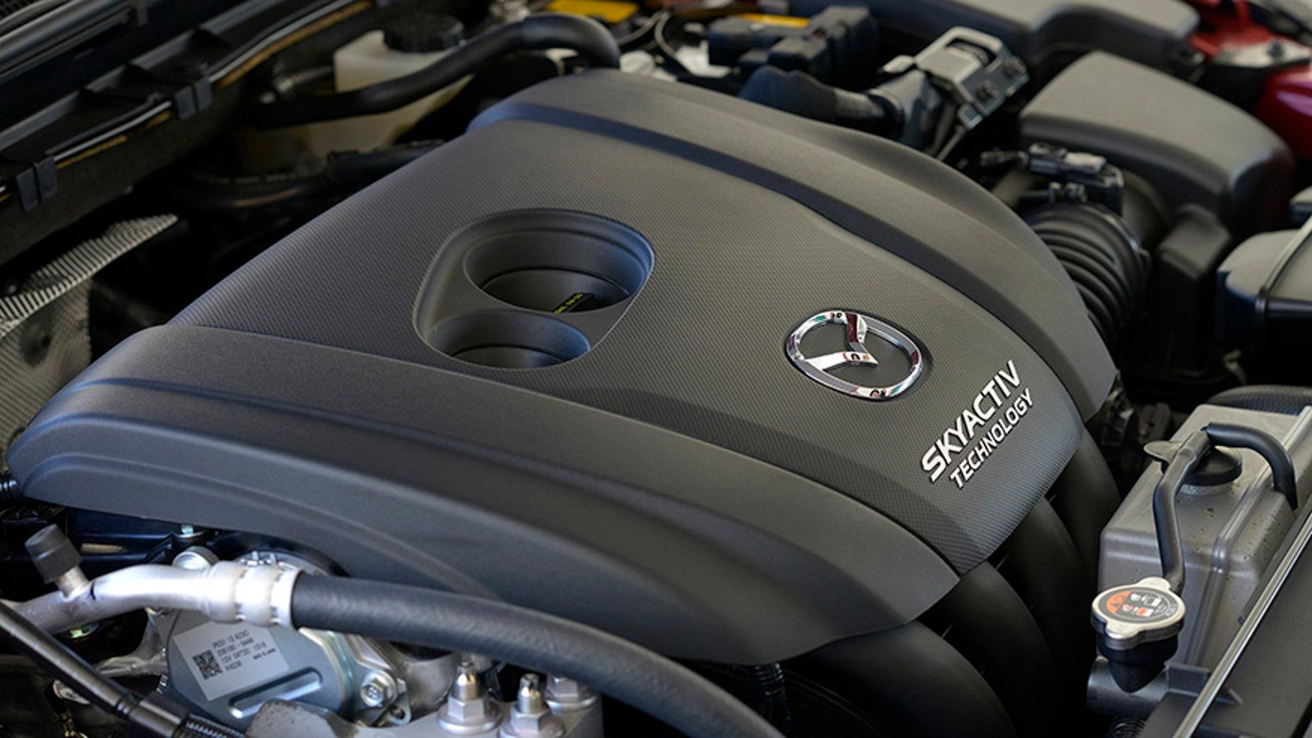 Current Mazda3 engine