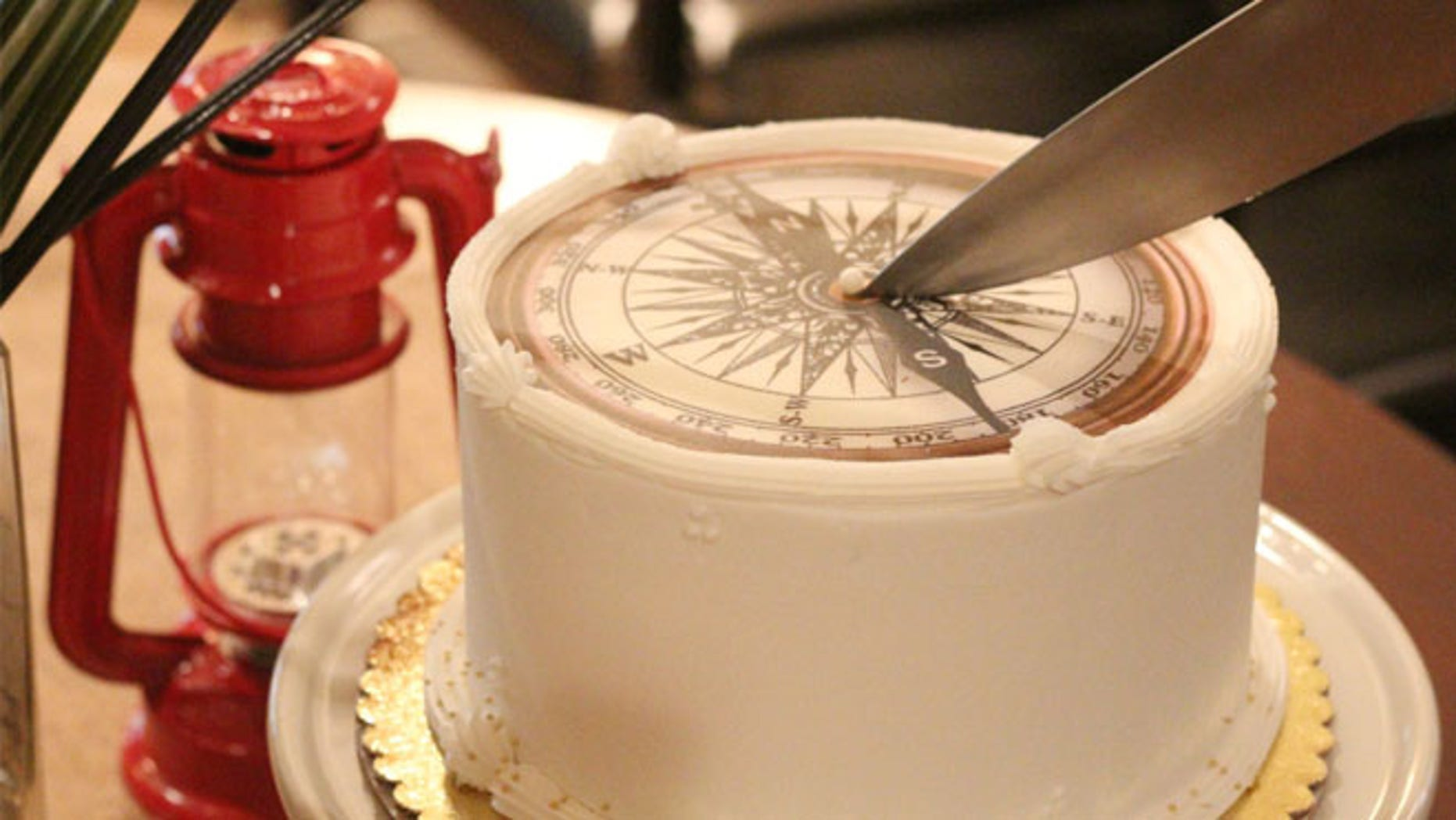 """""""Cutting a Round Cake on Scientific Principles"""" blows away the conventional triangular slice method."""