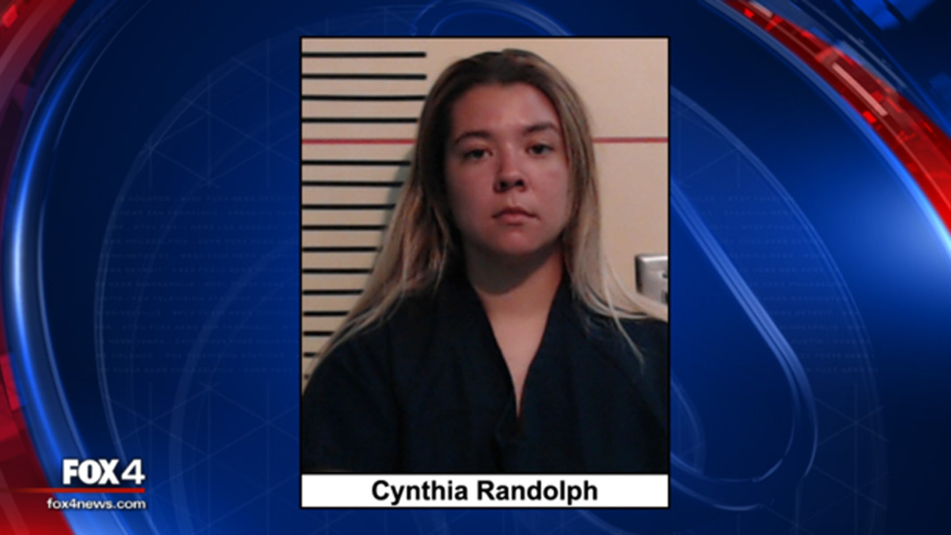 Cynthia Randolph is accused of leaving her two toddlers in a hot car in Texas.