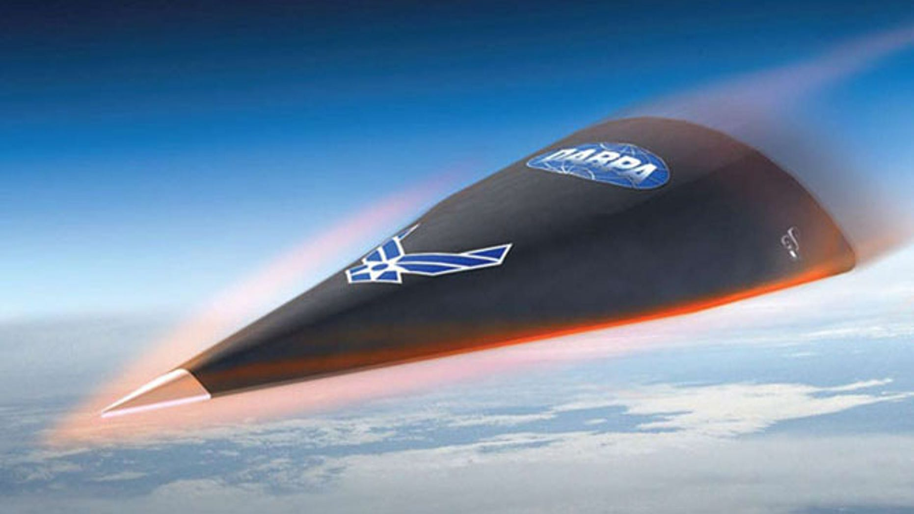 The DARPA Falcon Hypersonic Technology Vehicle (HTV)-2, one of several hypersonic test projects underway by various U.S. military agencies.