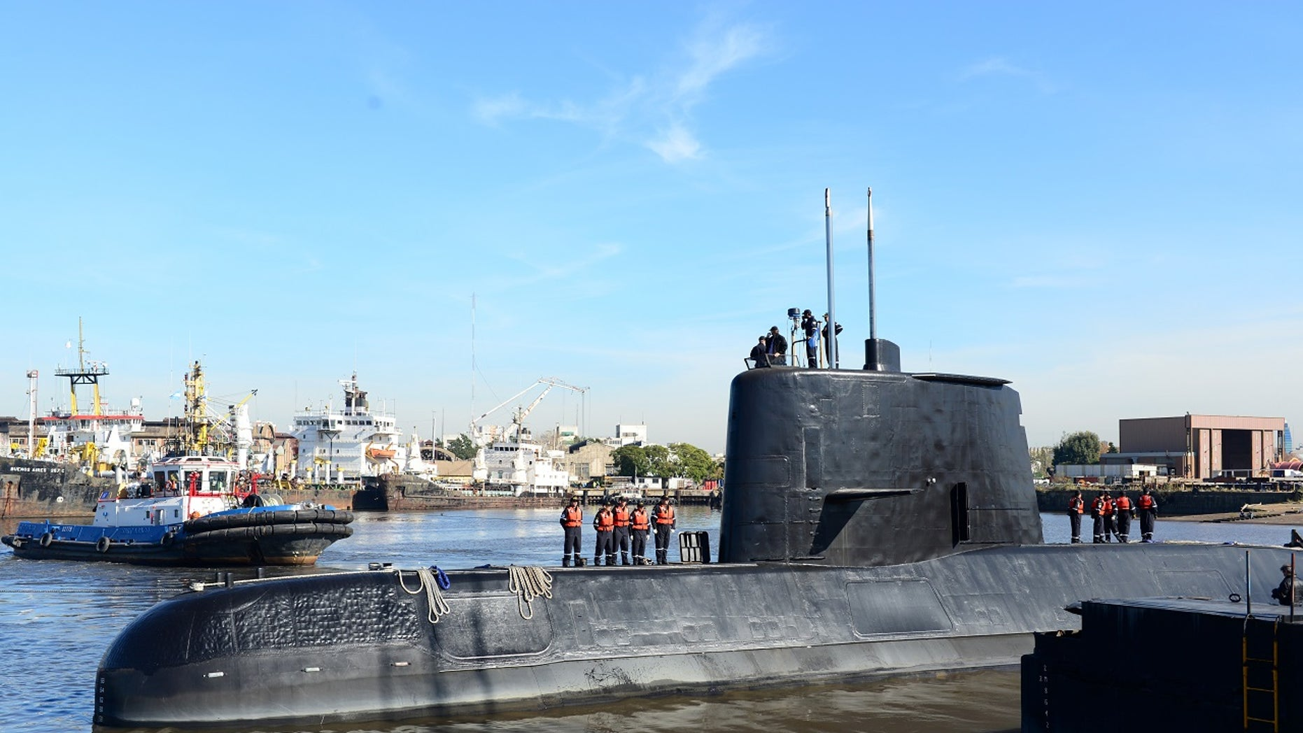 The ARA San Juan, an Argentine submarine with 44 crew members aboard, went missing Wednesday. The U.S. Navy will assist in a search.