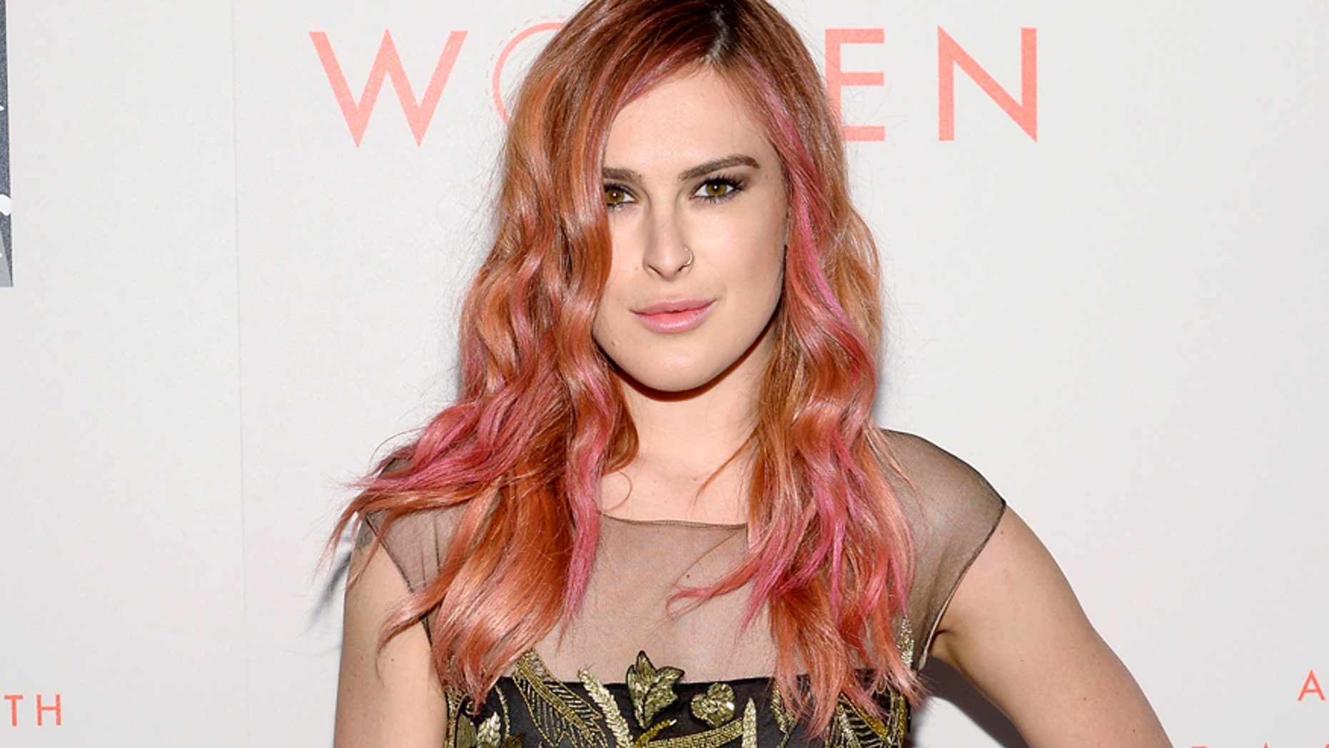 """Actress Rumer Willis arrives for the L.A. Gay & Lesbian Center's Annual """"An Evening With Women"""" event in Beverly Hills, California May 10, 2014. REUTERS/Kevork Djansezian  (UNITED STATES - Tags: ENTERTAINMENT) - RTR3OLZW"""