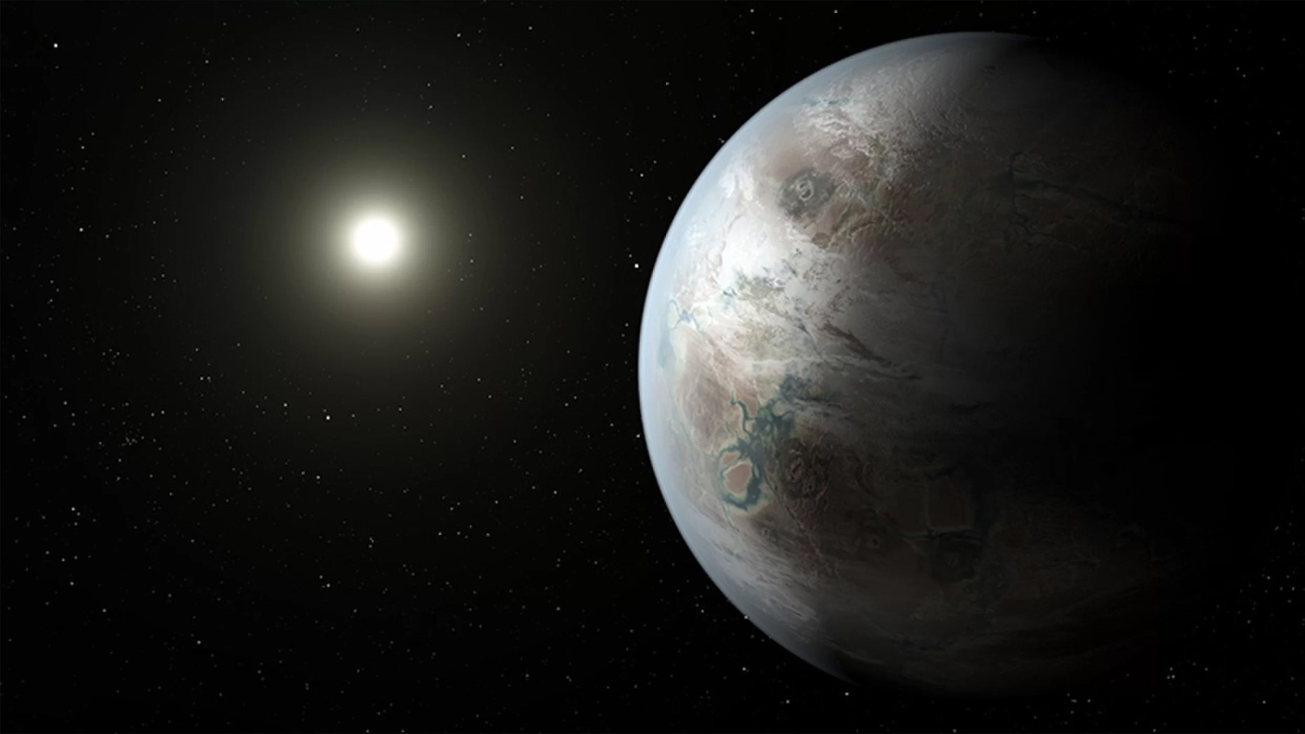 If things went south on Earth, could Mars or an exoplanet be Earth 2.0? Credit: T. Pyle/NASA/JPL-Caltech
