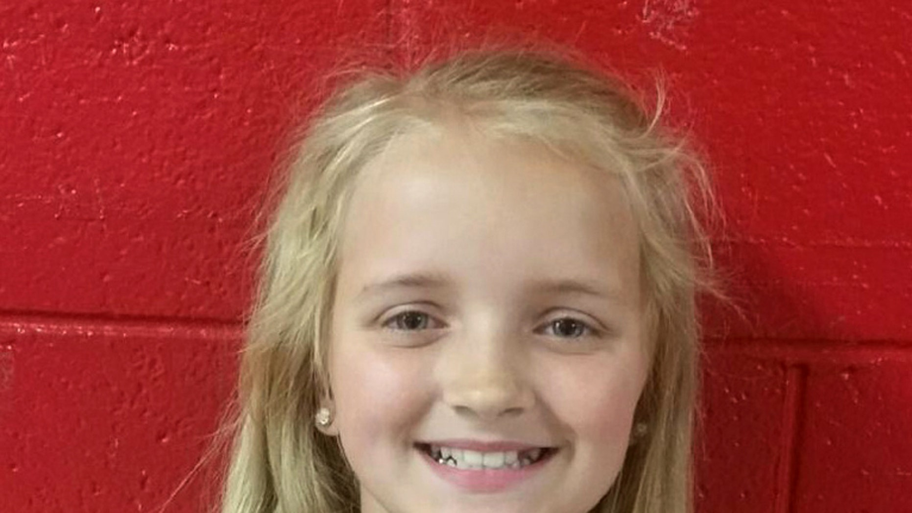 Carlie Marie Trentd is seen in an undated photoprovided by  the Tennessee Bureau of Investigation via the Rogersville Police Department. 9-year-old Carlie Marie Trent of Rogersville was reported missing on Wednesday, May 4, 2016, after a non-custodial uncle, Gary Simpson, signed her out of school under false pretenses. Carlie is described as having blonde hair and blue eyes. She is about 4-foot 8-inches tall and weighs about 75 pounds. She was last seen with Simpson.  (Tennessee Bureau of Investigation via the Rogersville Police Department via AP)