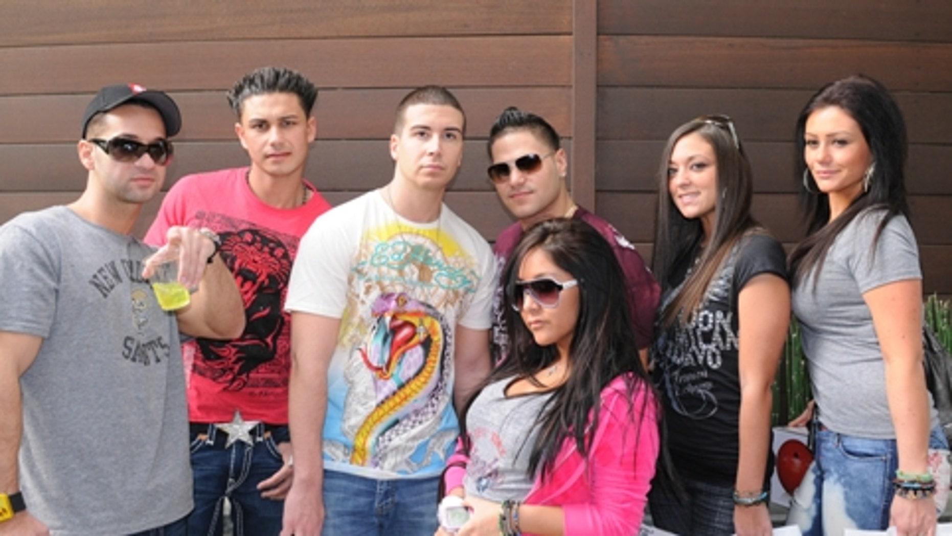 The 'Jersey Shore' Cast