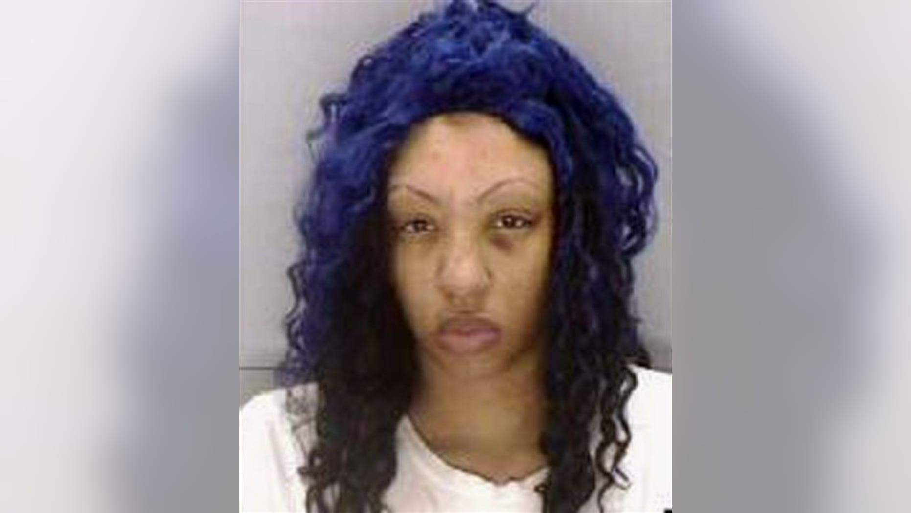 Undated photo of Zinah Jennings. Columbia police are in a desperate search for Jennings' 18-month-old son after she refused to tell them of his whereabouts.